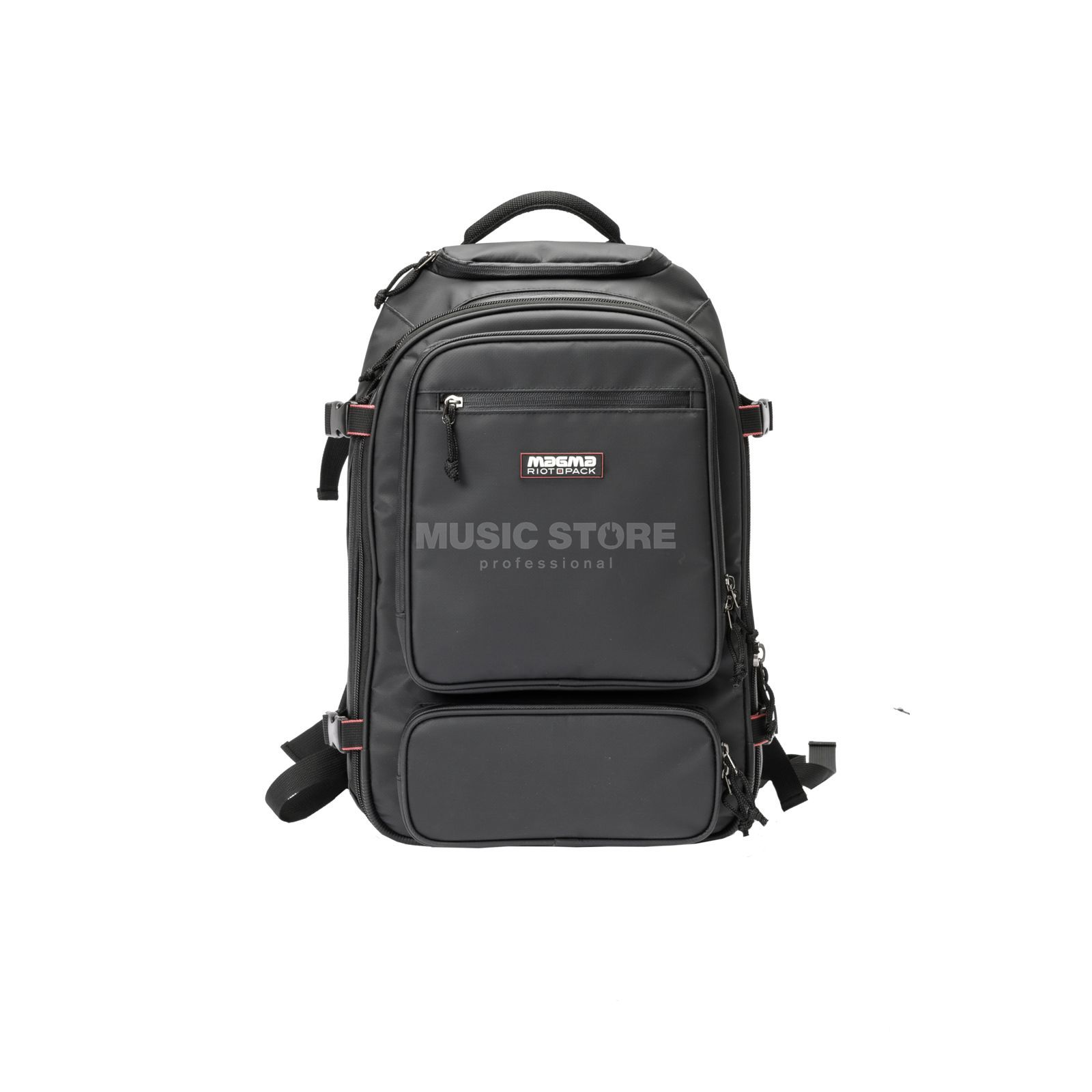 Magma Riot DJ-Backpack black/red Image du produit