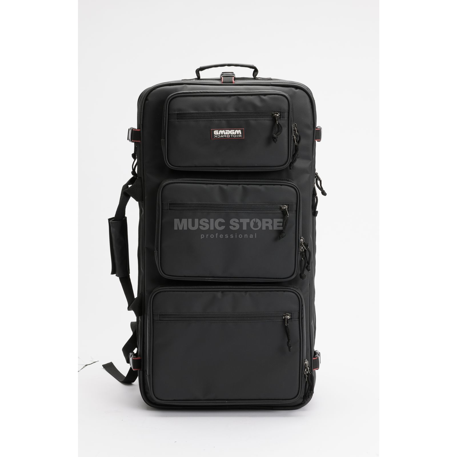 Magma Riot DJ-Backpack XXL black/red Produktbild