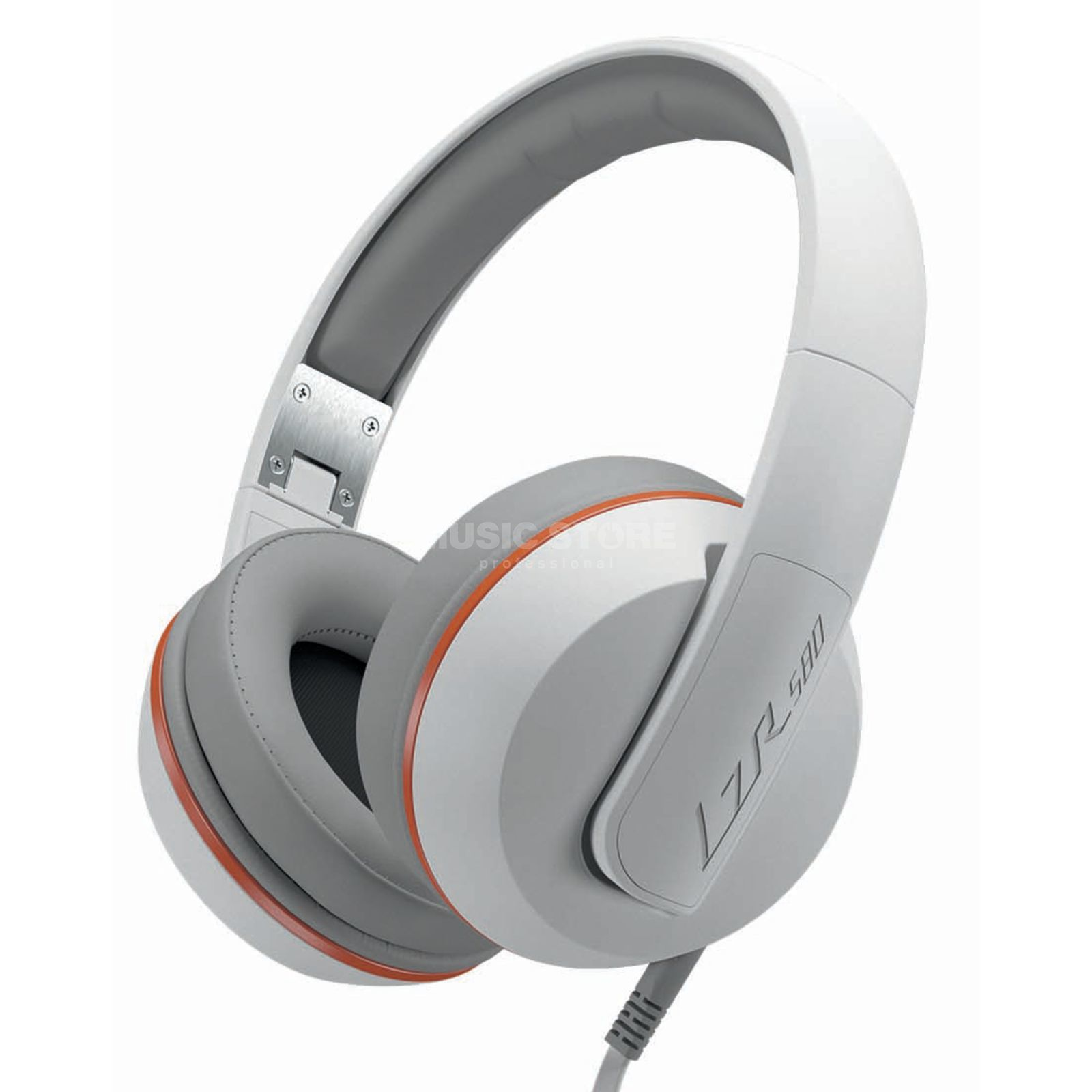 Magnat LZR 580 White vs. Orange Over-Ear Kopfhörer Produktbild
