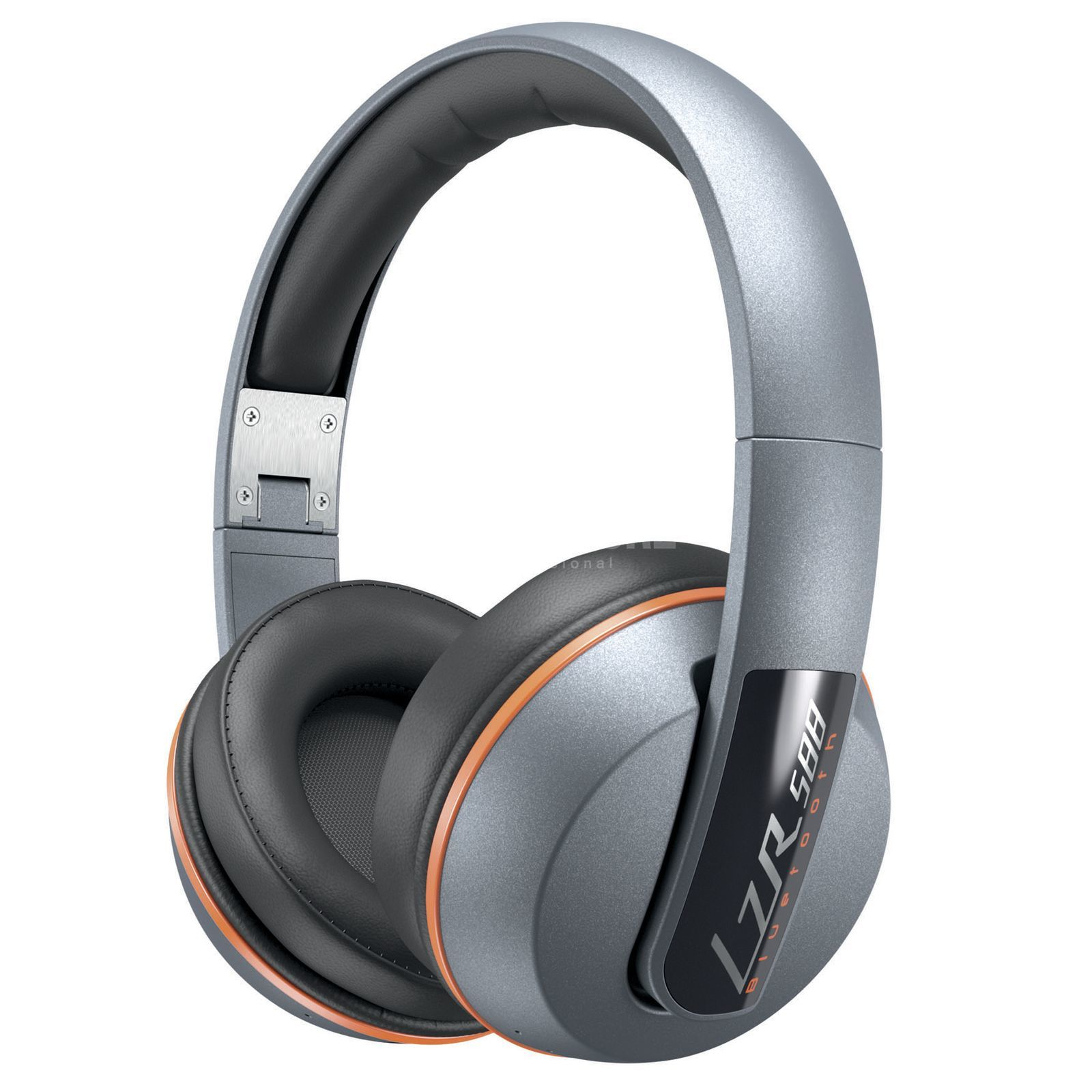 Magnat LZR 588 BT Silver vs. Orange Bluetooth Kopfhörer Produktbild