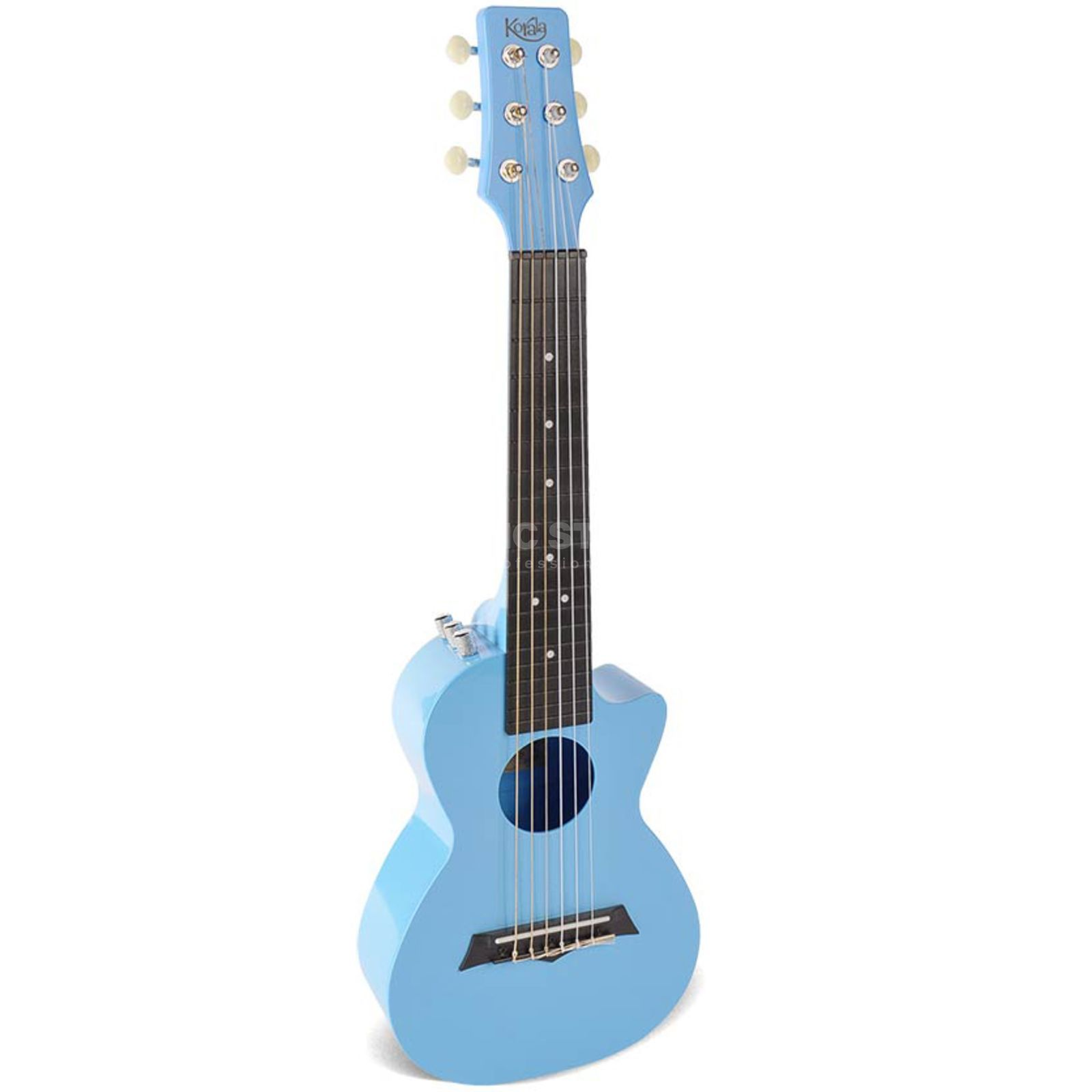 Mahalo PUG-40E Guitarlele Light Blue Pickup Produktbild