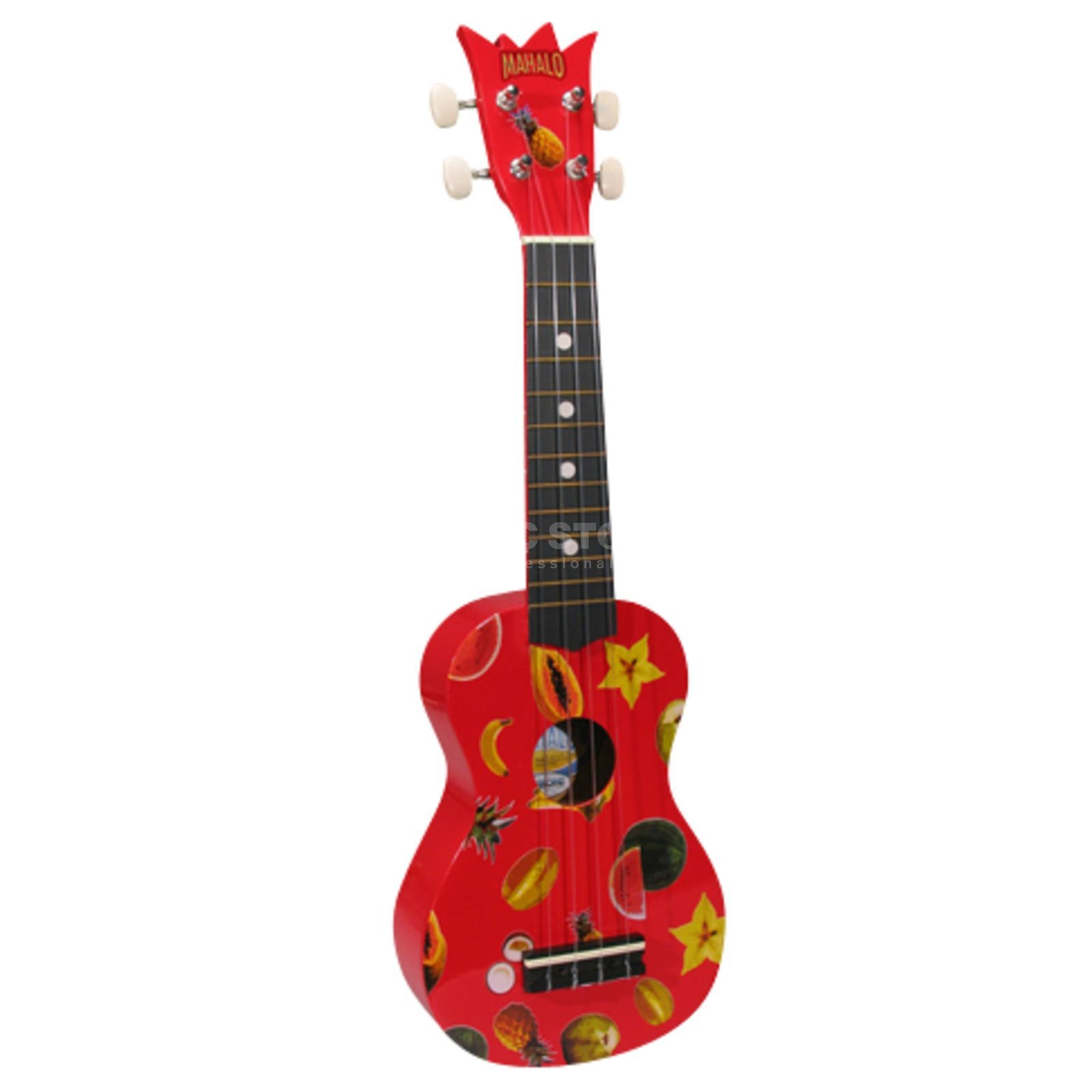 Mahalo U1-KIT-RD Red Sopranukulele inkl.Bag,DVD,Picks,Stimmpfeife Produktbillede