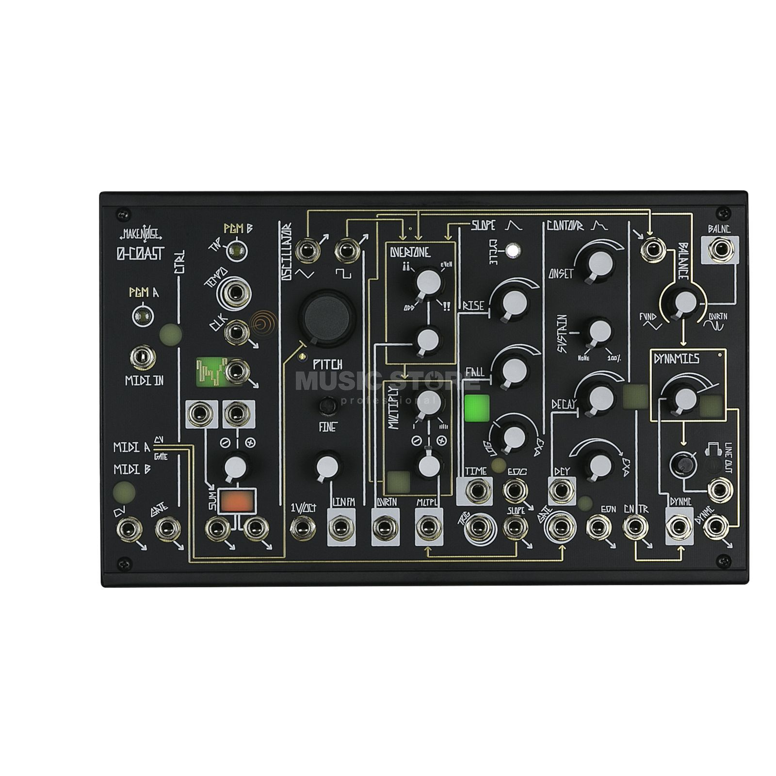 Make Noise 0-COAST Patchable Mono Synthesizer Produktbillede