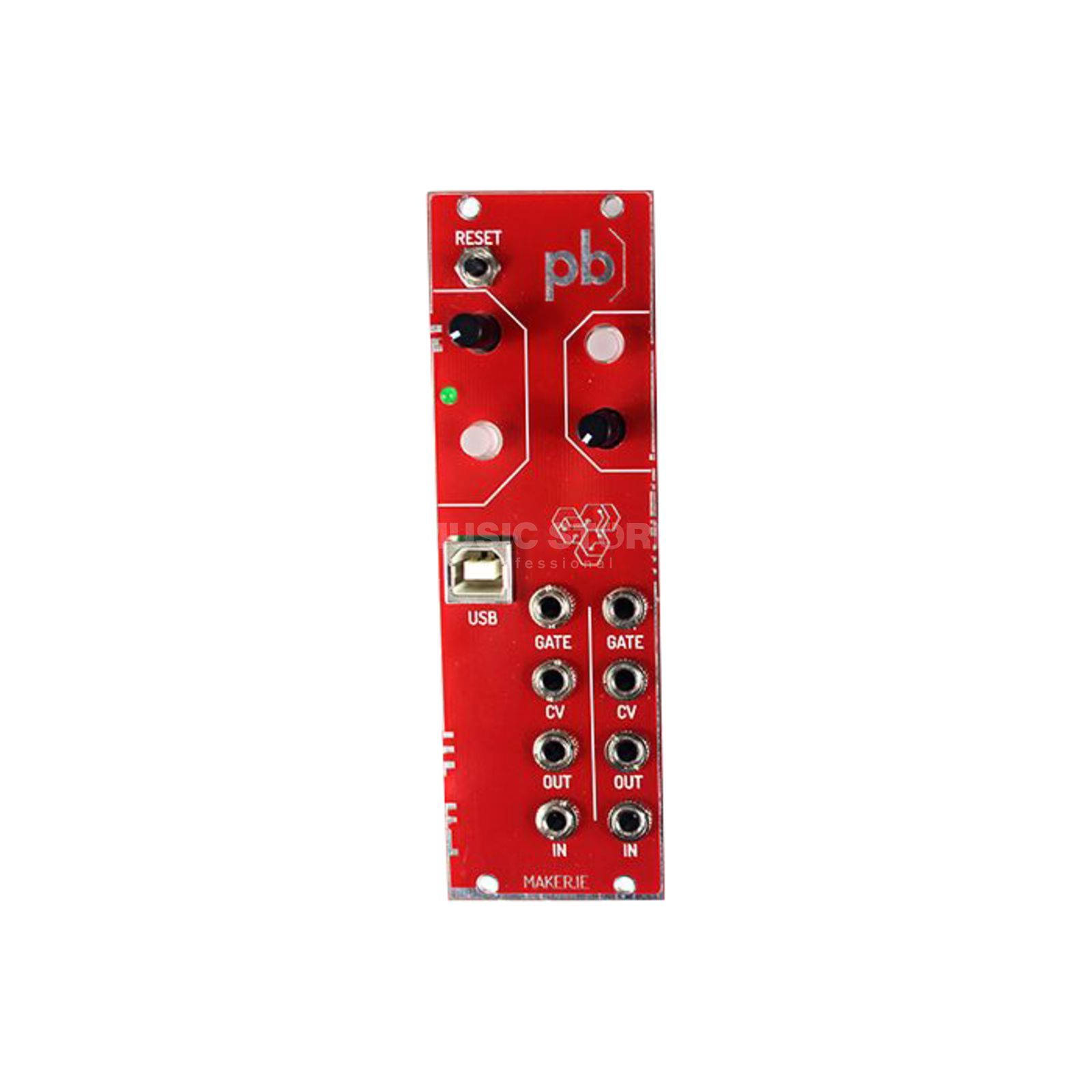 Maker Patchblock Eurorack red Produktbillede