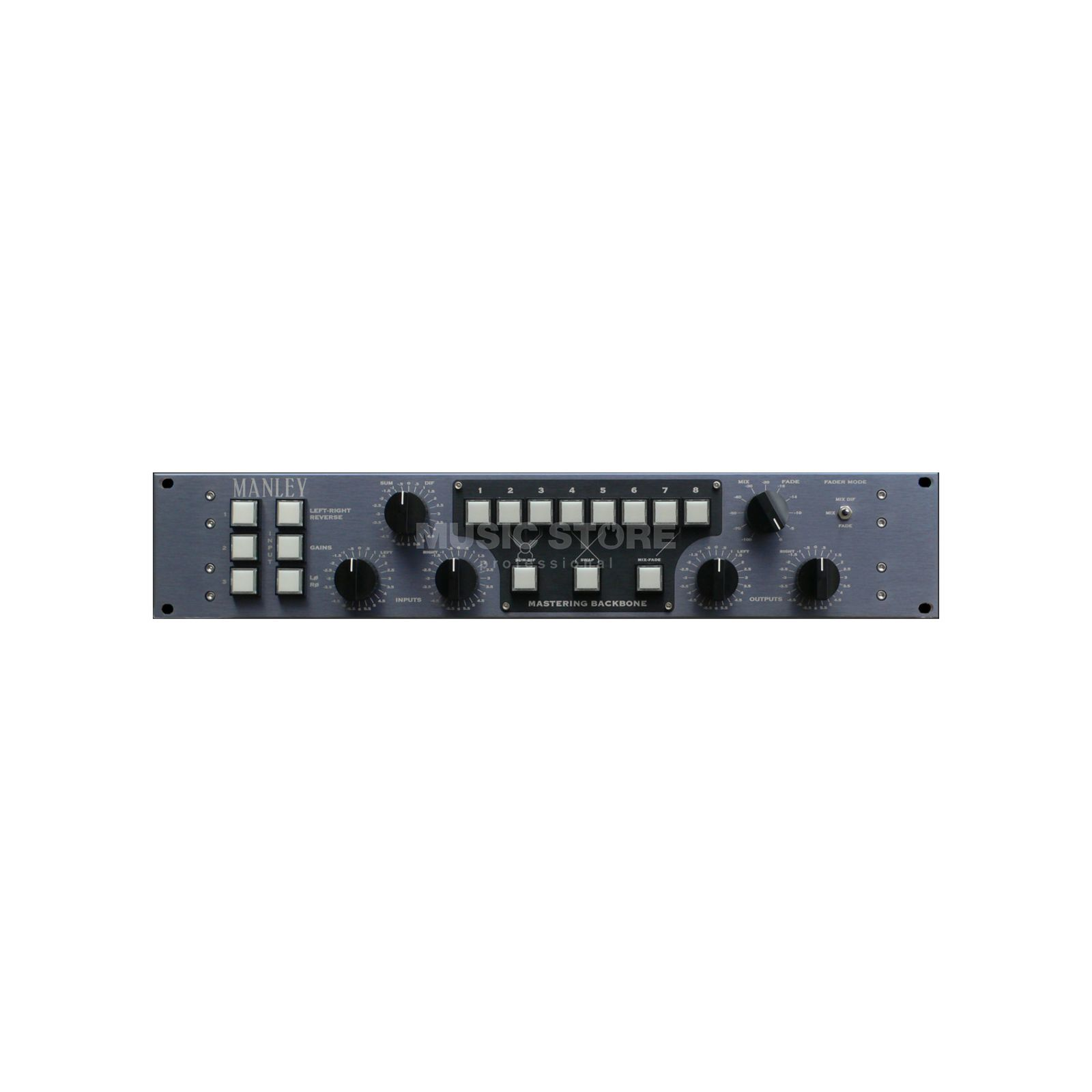 Manley Mastering Backbone D-Sub Insert-Switcher with D-Sub I/O Produktbillede