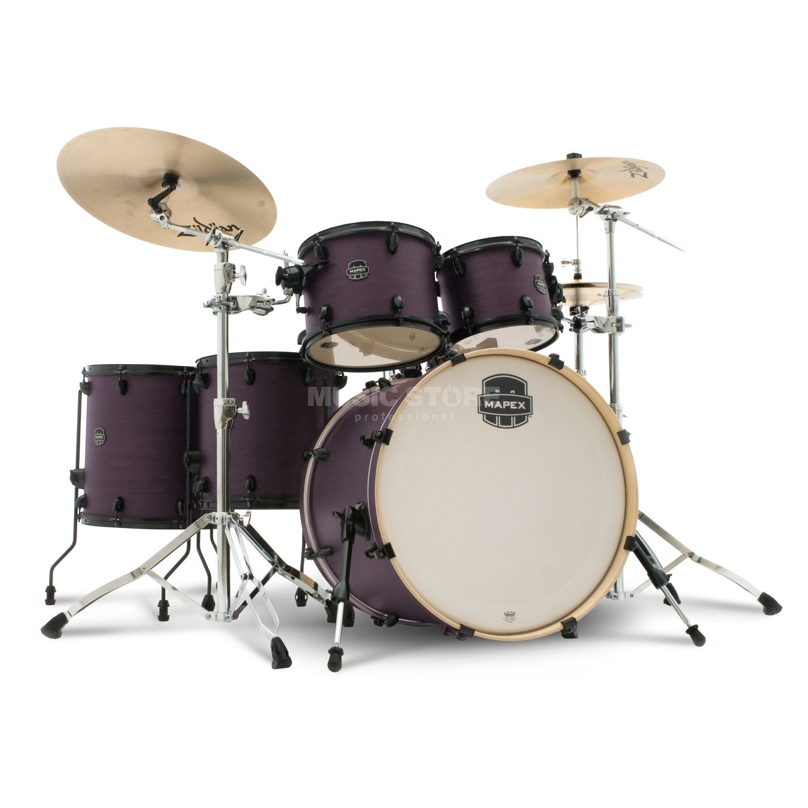 Mapex Armory ShellSet AR628S Purple Haze #BUP, Black HW Product Image