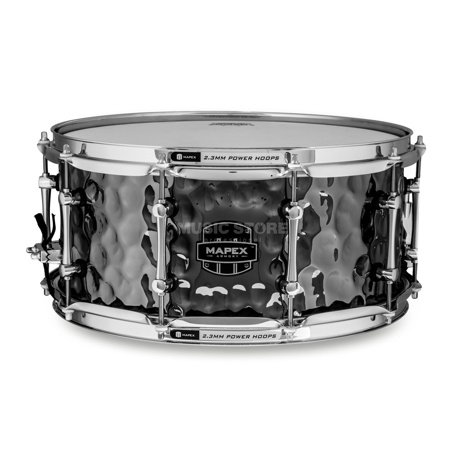 "Mapex Armory Snare ""Daisy Cutter"", 14""x6,5"", Black Plating Produktbild"