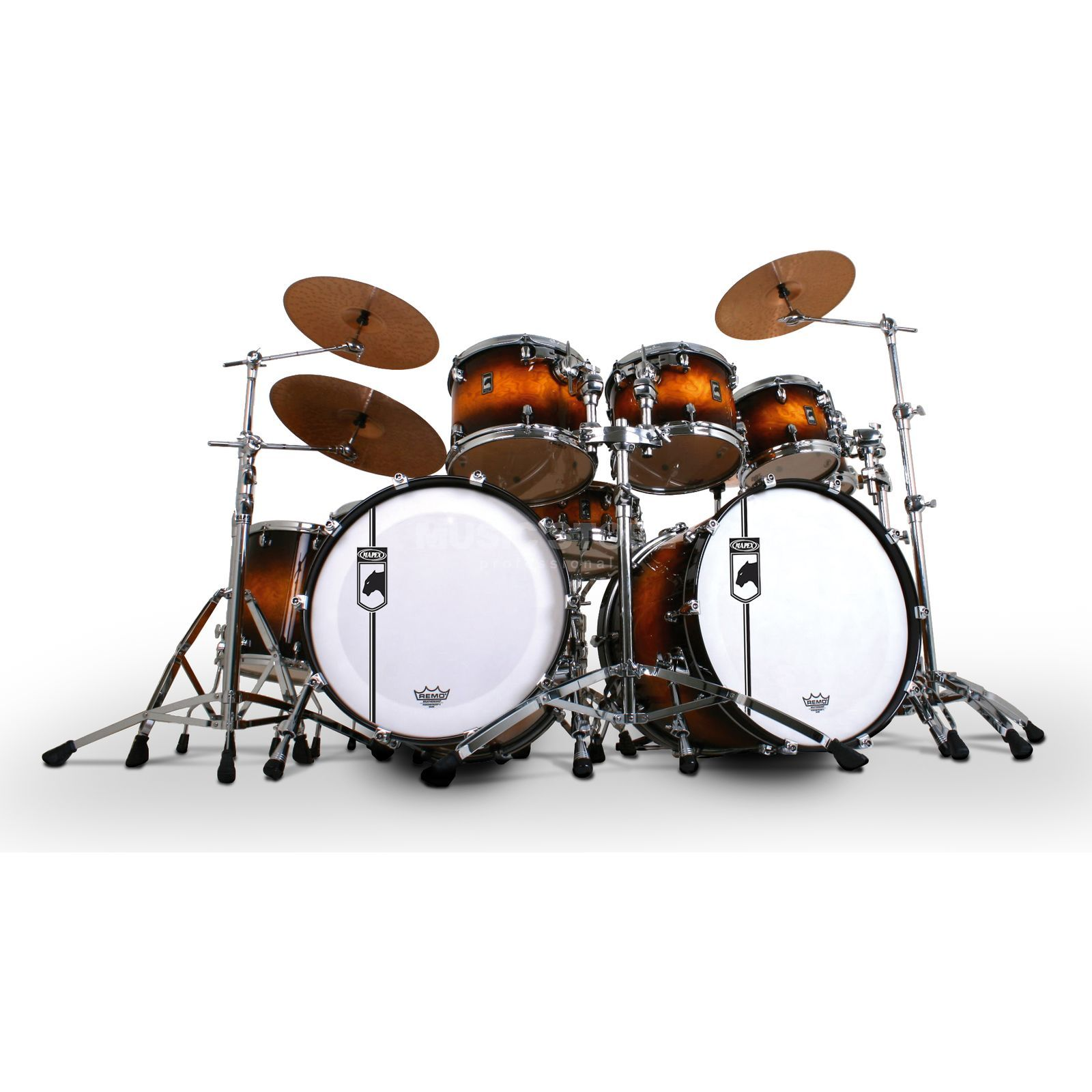 Mapex Black Panther ShellSet V628X, The Velvetone #UB Product Image