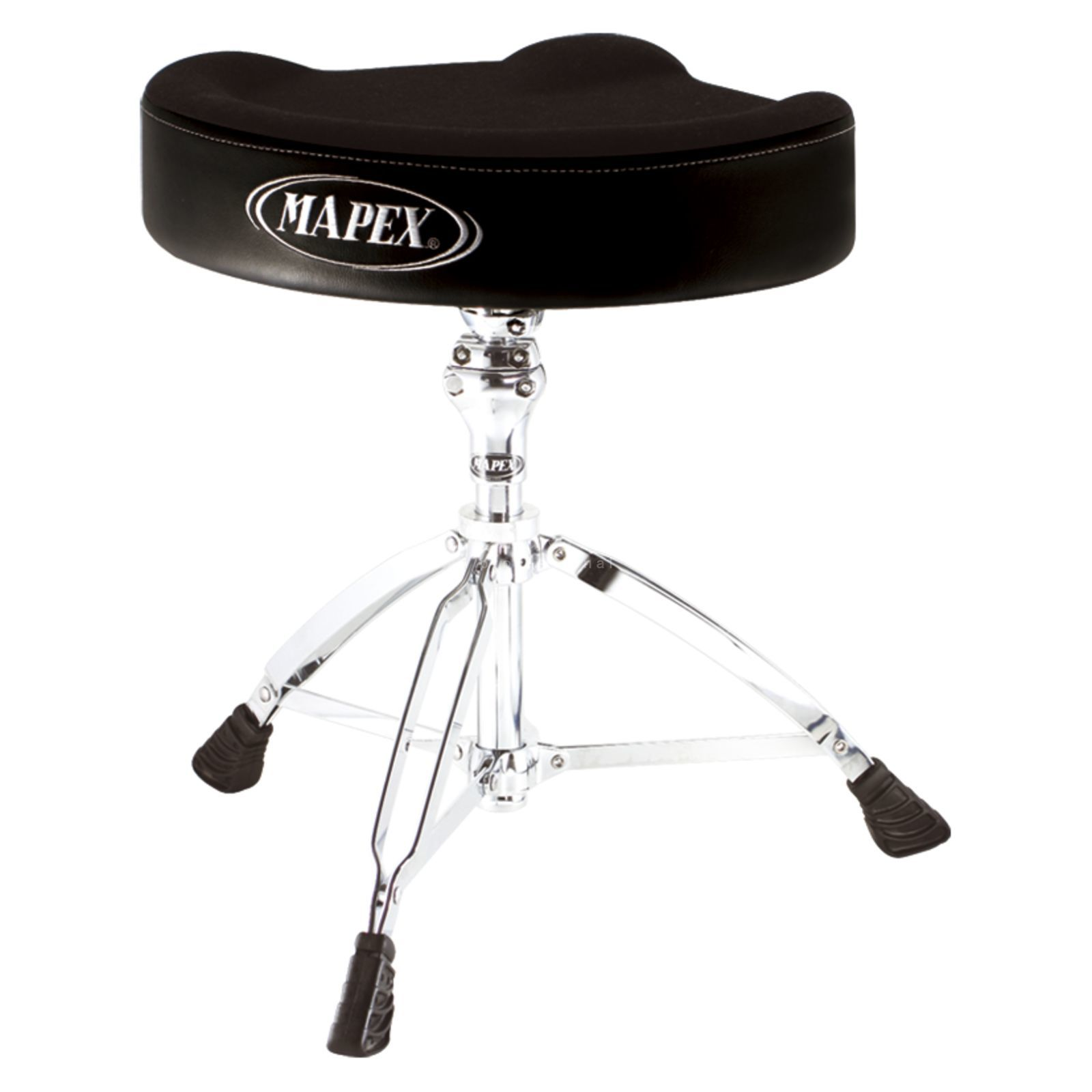 Mapex Drum Throne MXT765A, saddle, cloth top Produktbillede