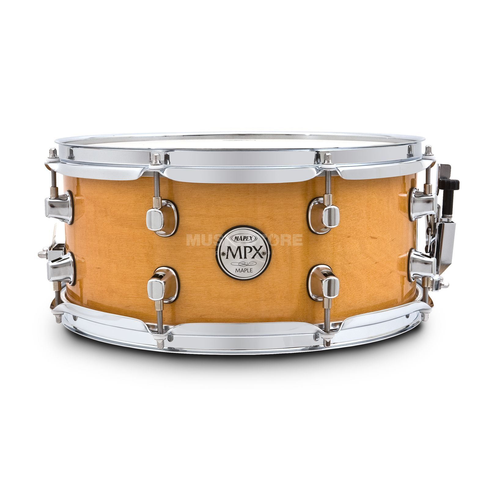 "Mapex MXMPML36CNL Snare 13""x6"", Gloss Natural Product Image"