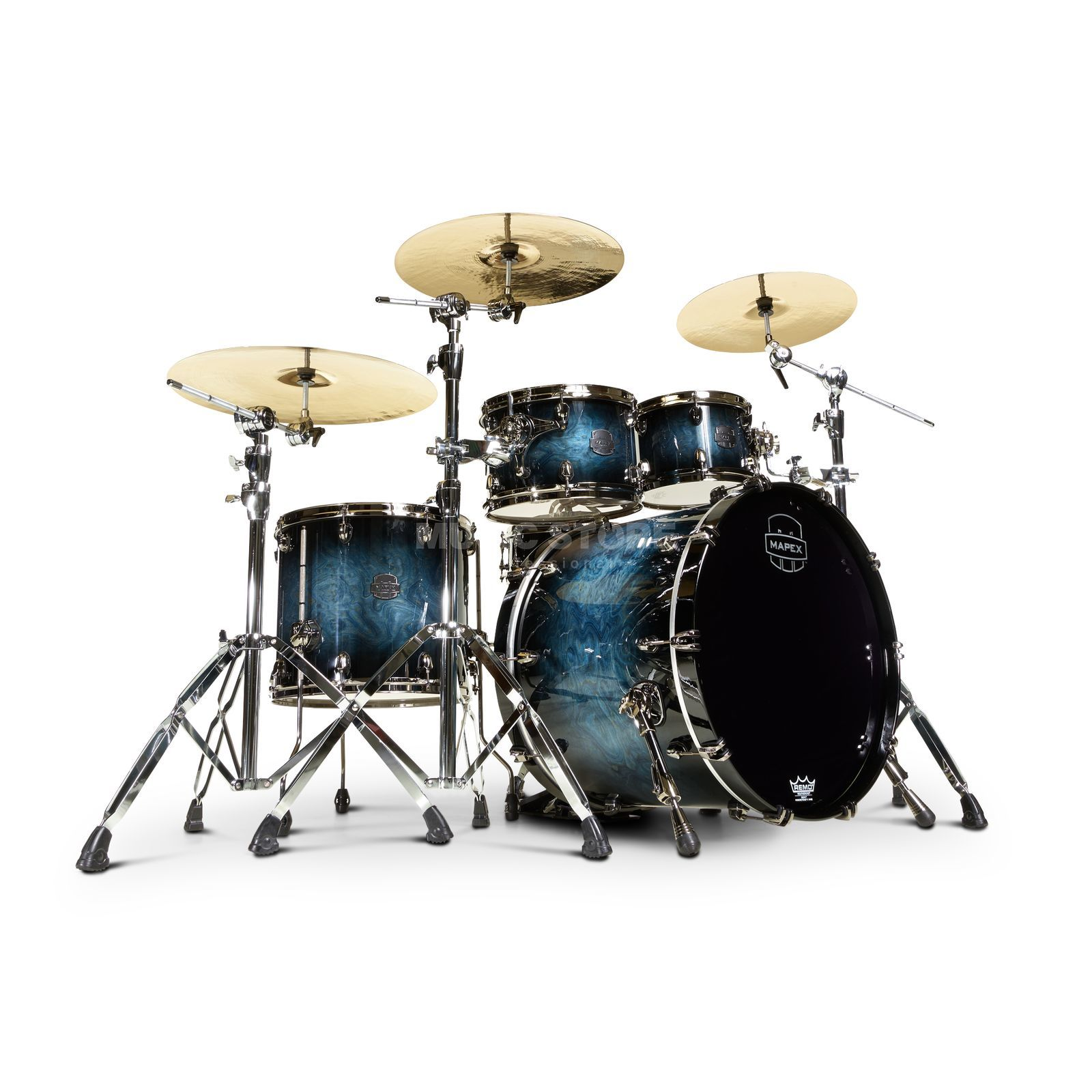 Mapex Saturn V MH Exotic SV504XB, Deep Water Maple Burl #MSL Produktbillede