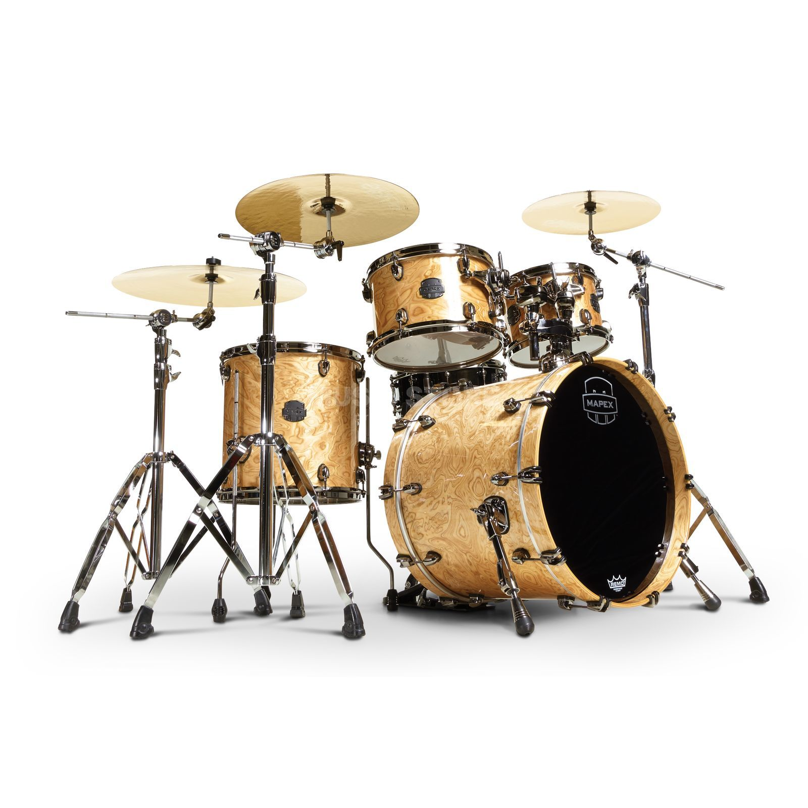 Mapex Saturn V MH Exotic SV504XB, Natural Maple Burl #MXN Product Image