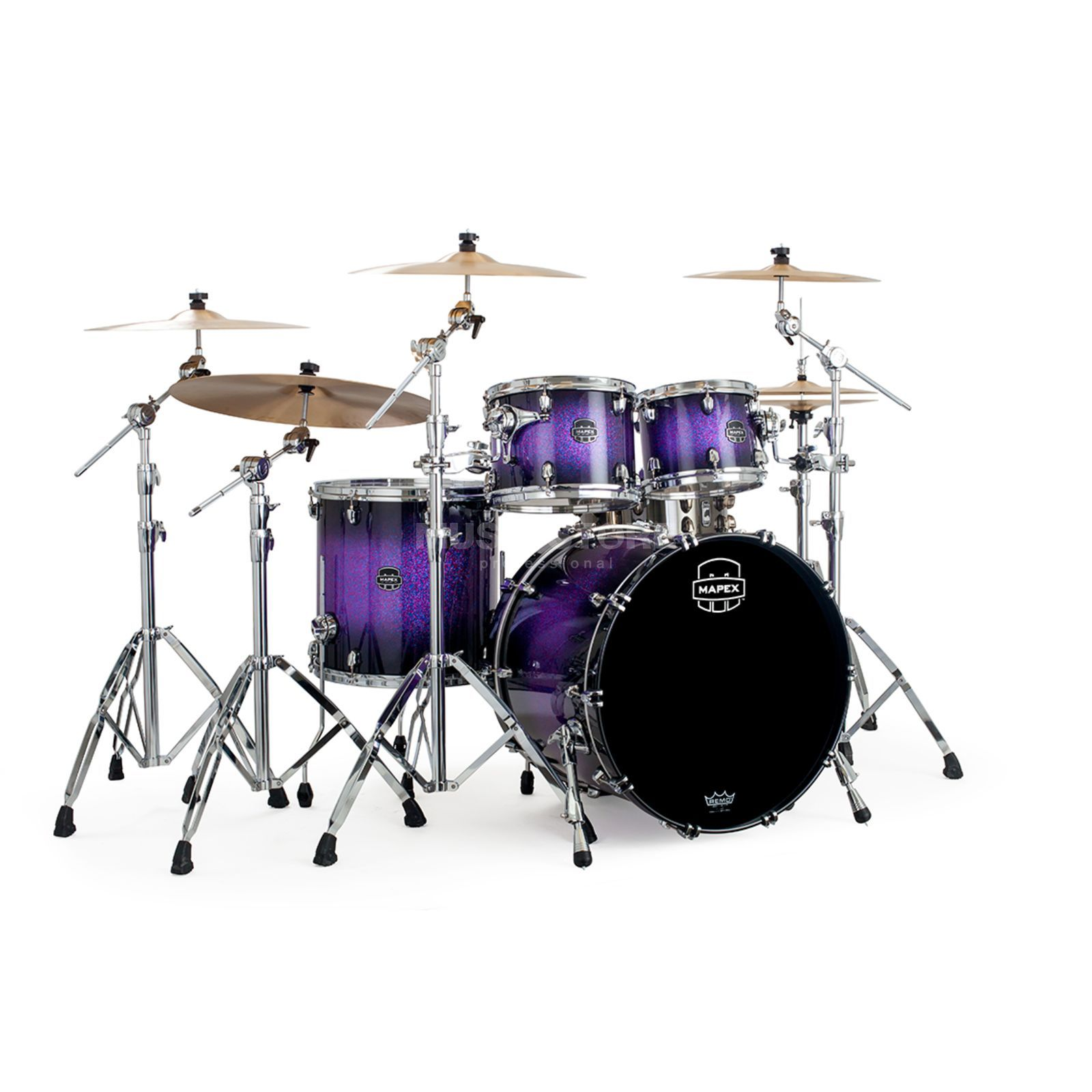 Mapex Saturn V MH SV529X, Red/Blue Hybrid Sparkle #PH Produktbillede