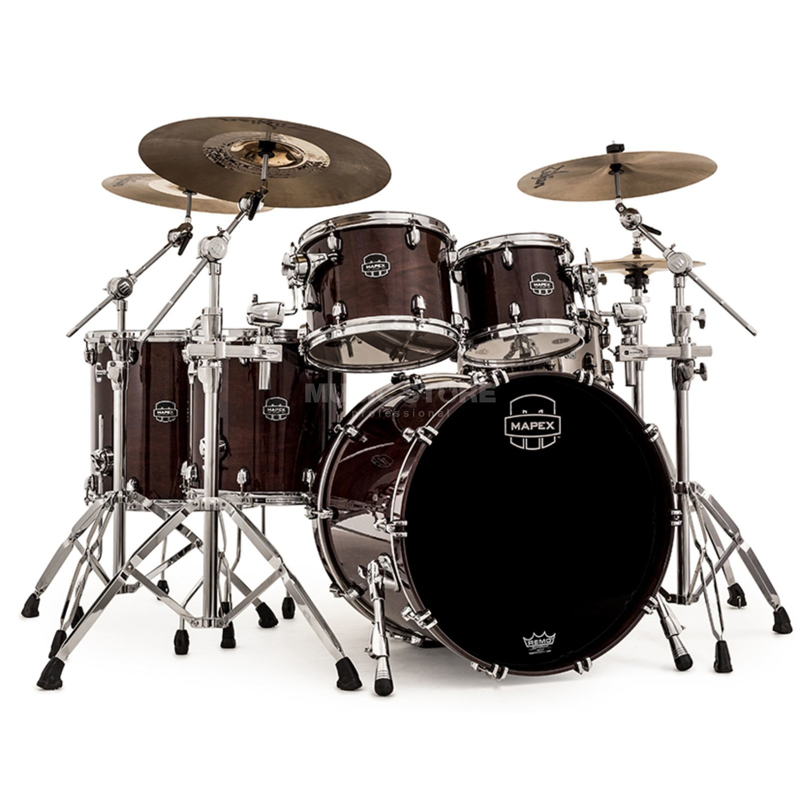 Mapex Saturn V MH SV628X, Transparent Espresso Walnut#TW Εικόνα προιόντος