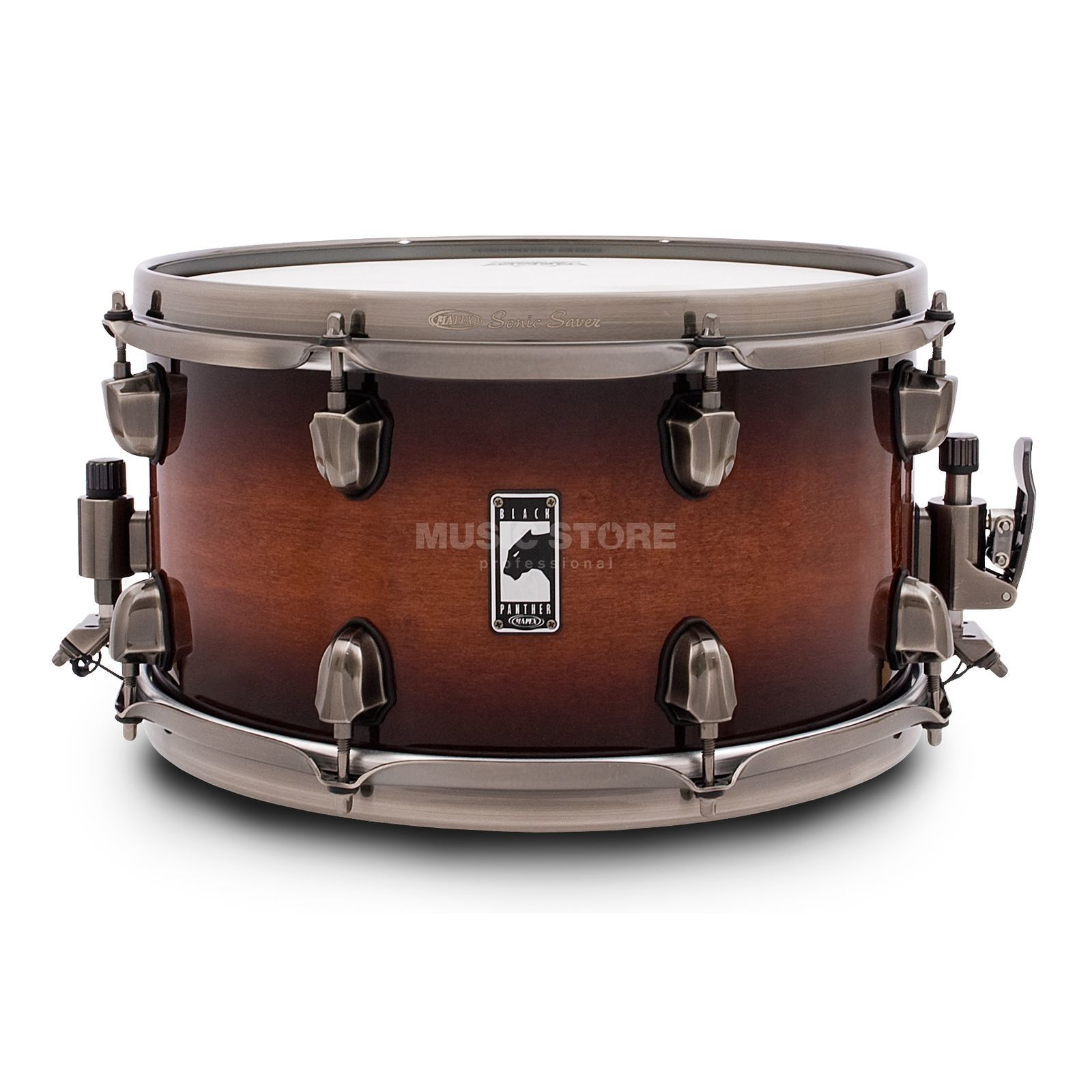 "Mapex zwart Panther Snare 13""x7"", ""The Blaster"" Productafbeelding"