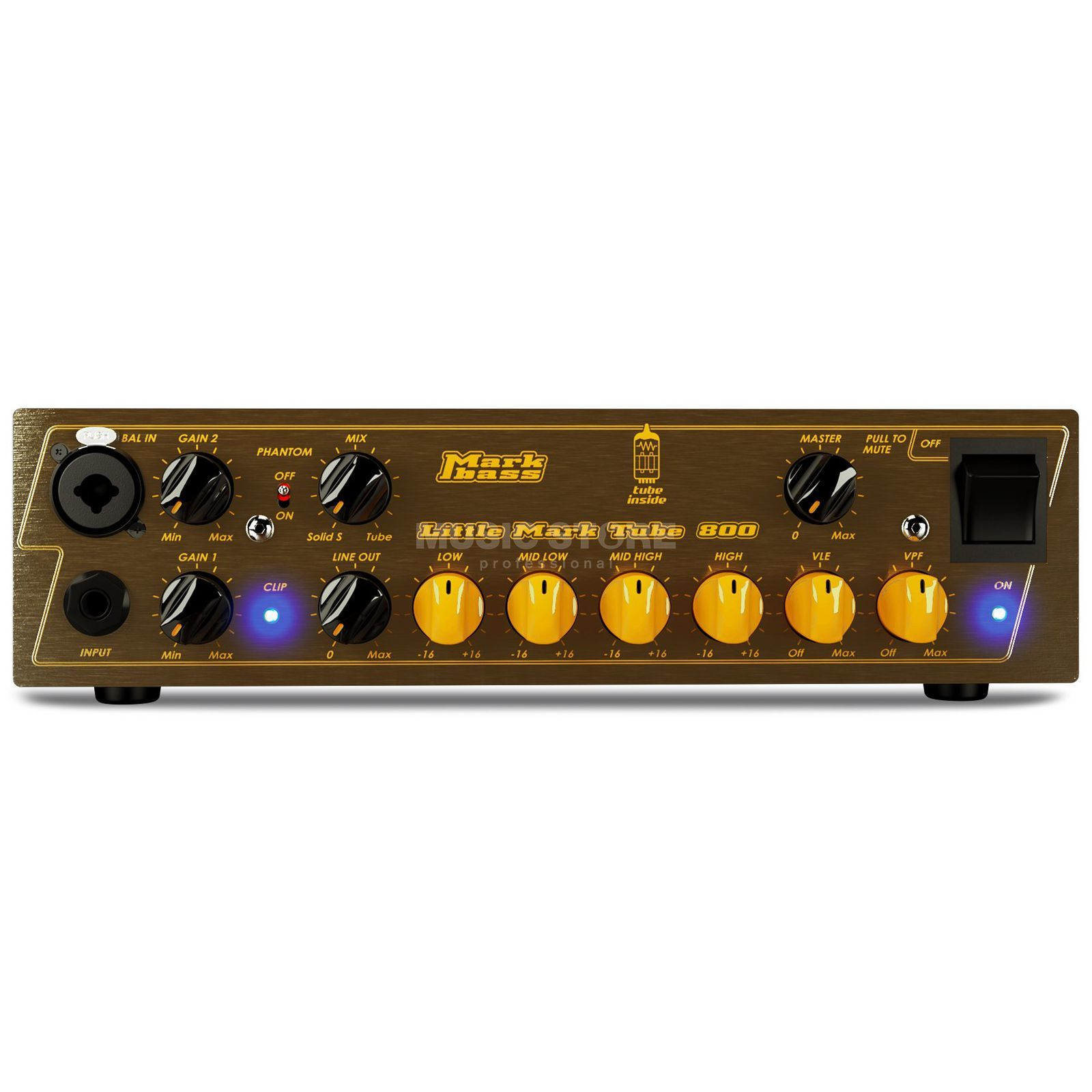 Mark Bass Tête Little Mark Tube 800 Image du produit