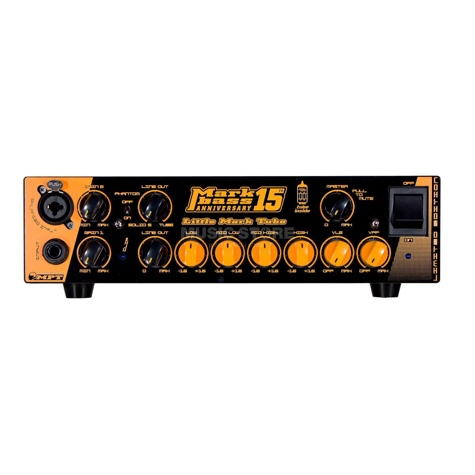 Markbass Little Mark Tube 15th Anniversary Product Image