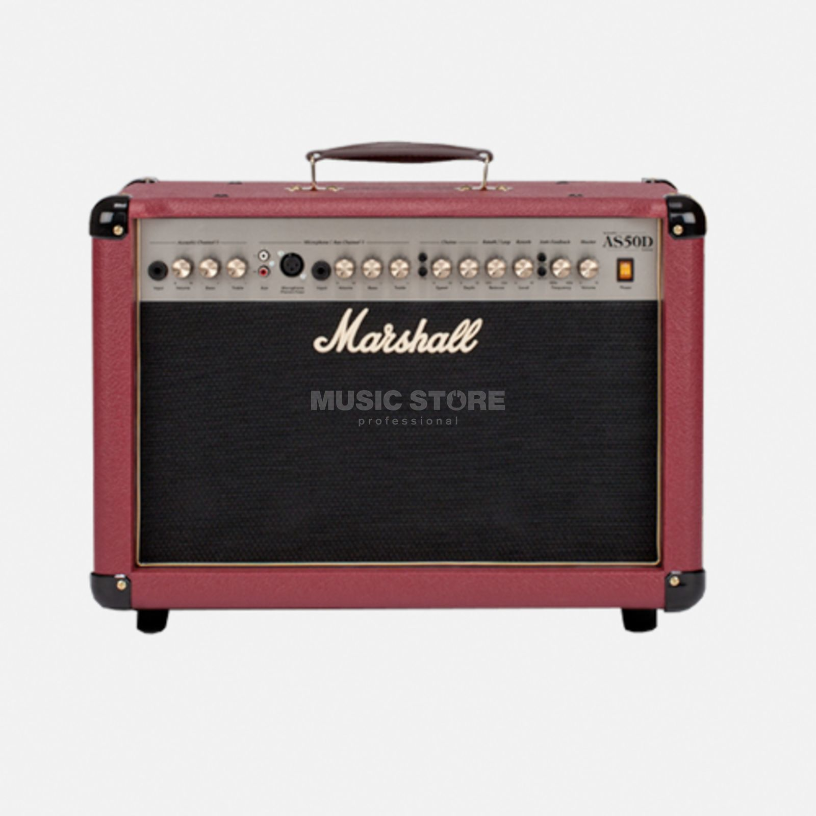 Marshall AS 50DR Red Produktbillede