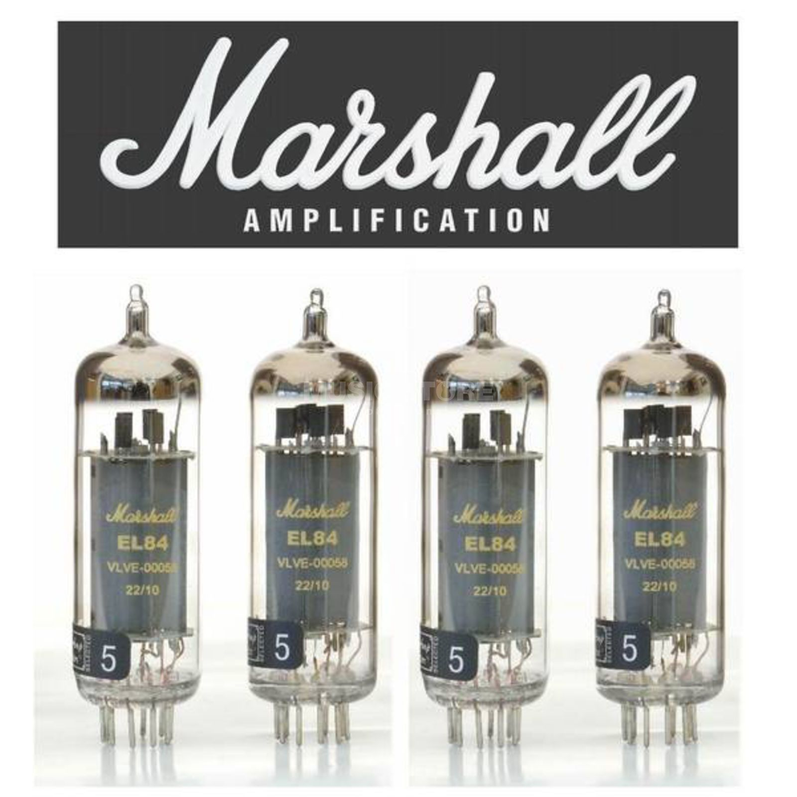 Marshall EL84 Quartett Gold Label Produktbild
