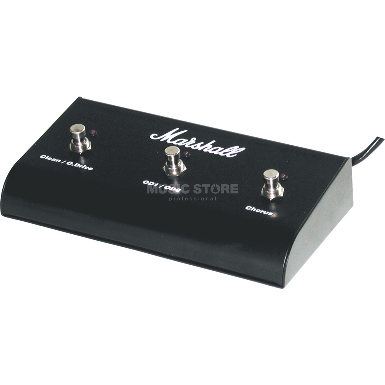 Marshall PEDL00014 Triple Footswitch Chorus with LED ( FS-03C ) Produktbillede