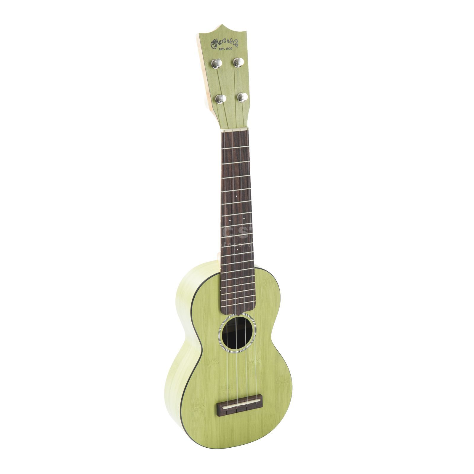 Martin Guitars 0X Uke Bamboo Green Product Image