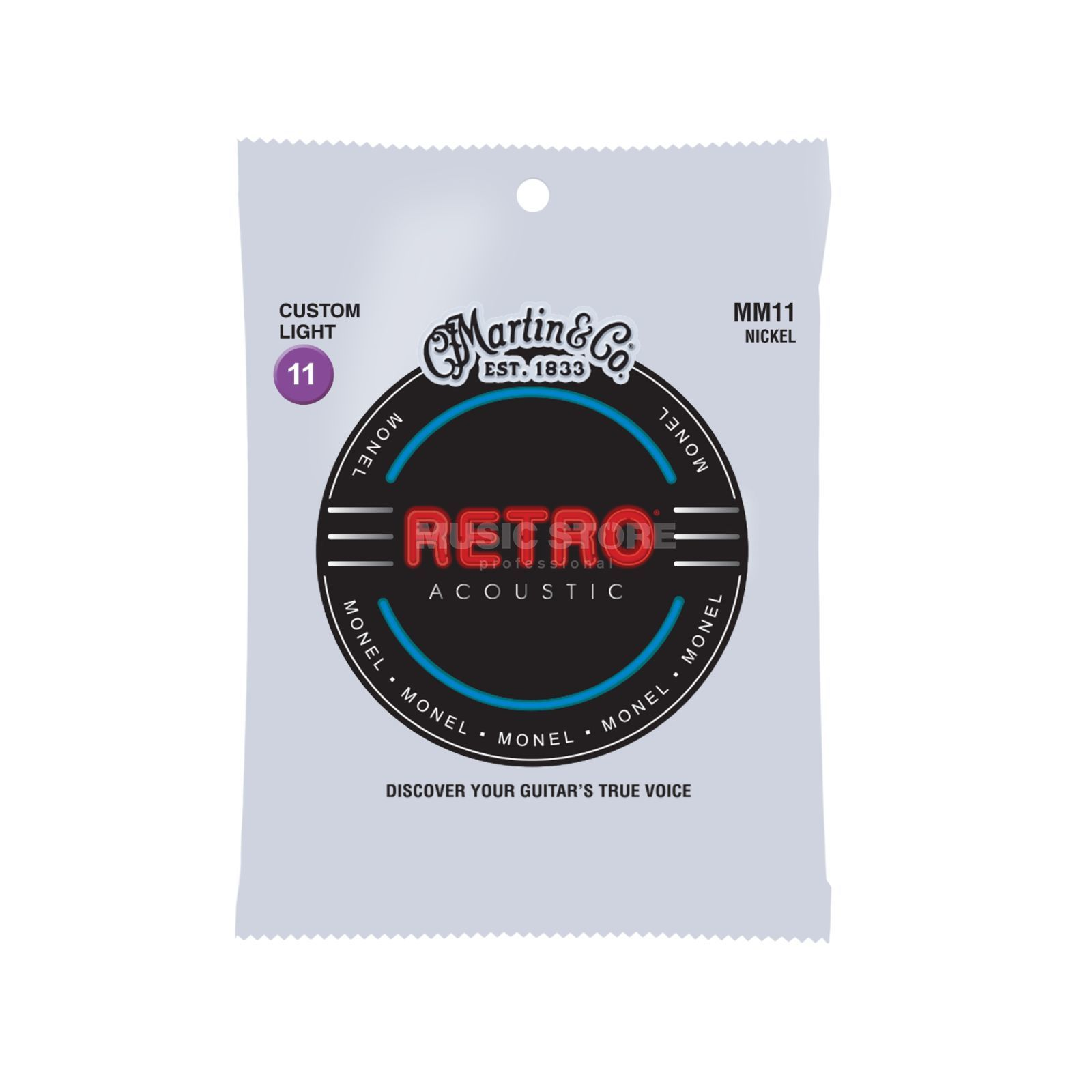 Martin Guitars A-Guitar Strings 11-52 MM-11 Retro Produktbillede