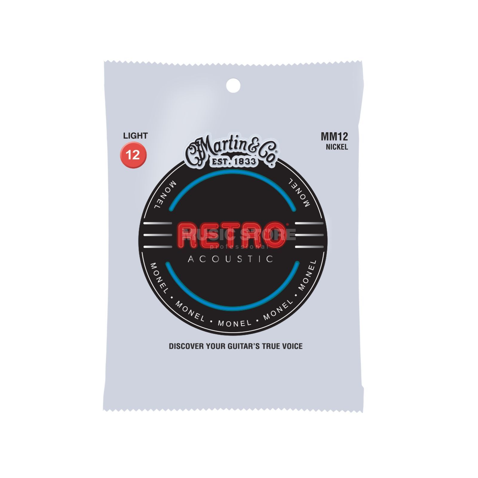 Martin Guitars A-Guitar Strings 12-54 MM-12 Retro Product Image