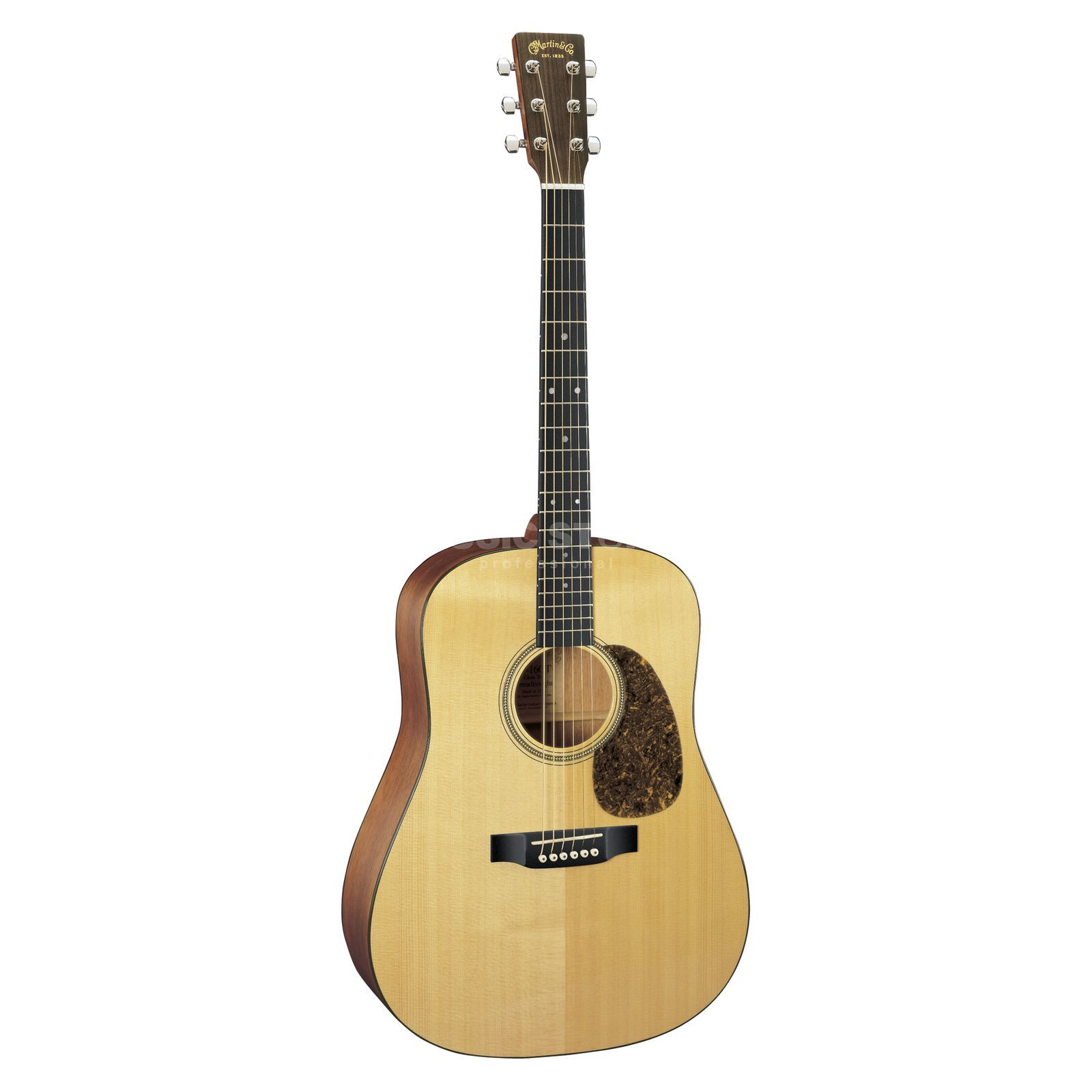 Martin Guitars D-16GT 16er Series Natural Dreadnought, Spruce Top, Case Produktbillede