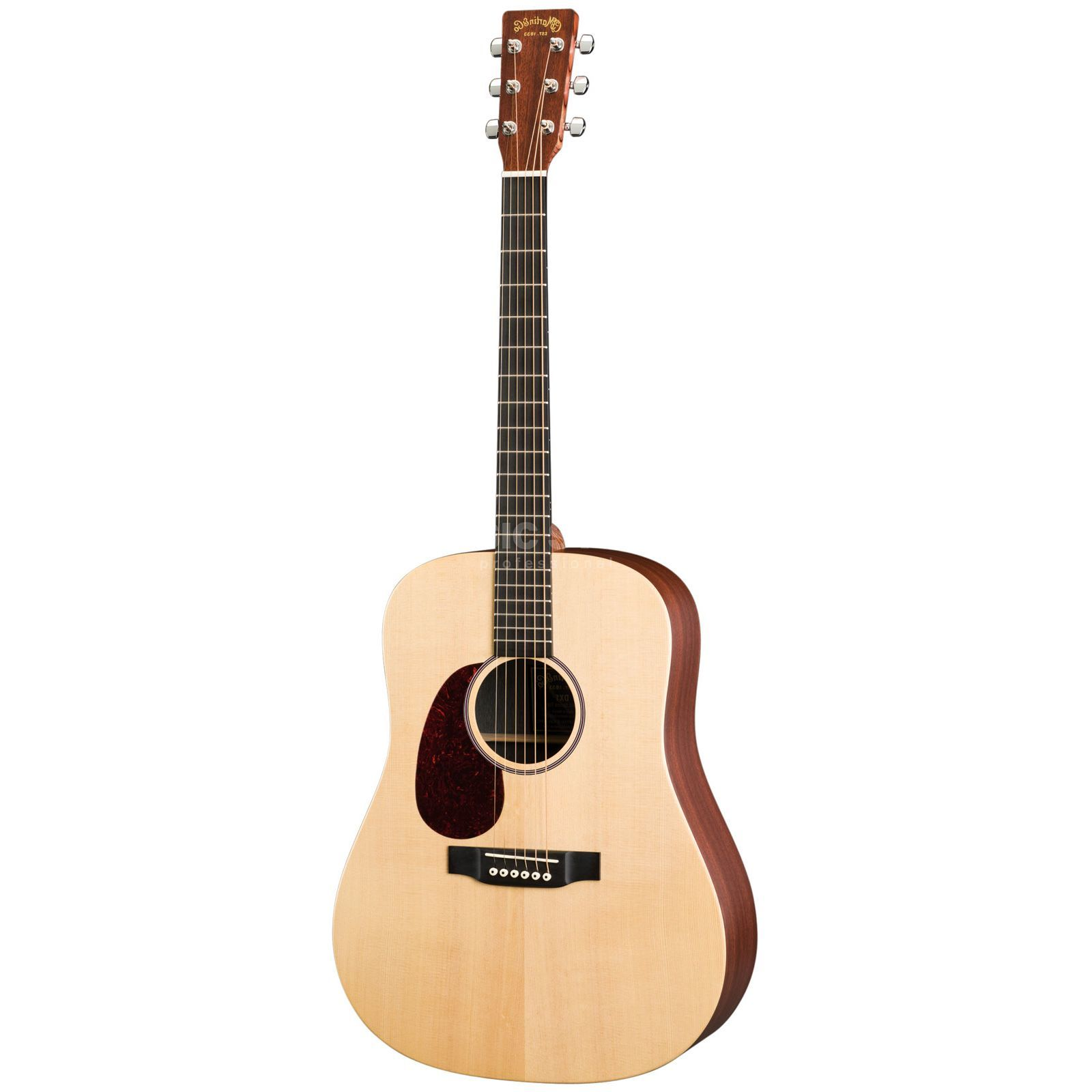 Martin Guitars DX1AEL Lefthand Natural Produktbillede