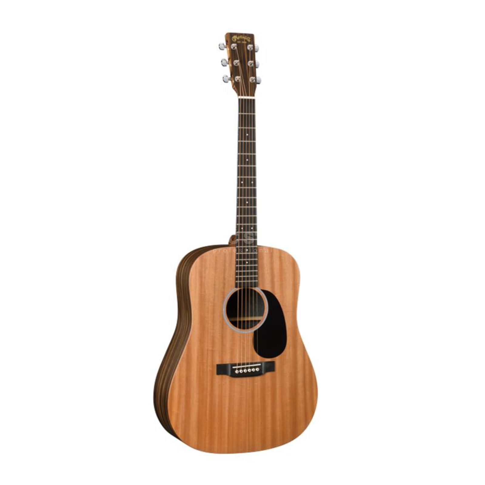 Martin Guitars DX2AE Macassar Natural Product Image