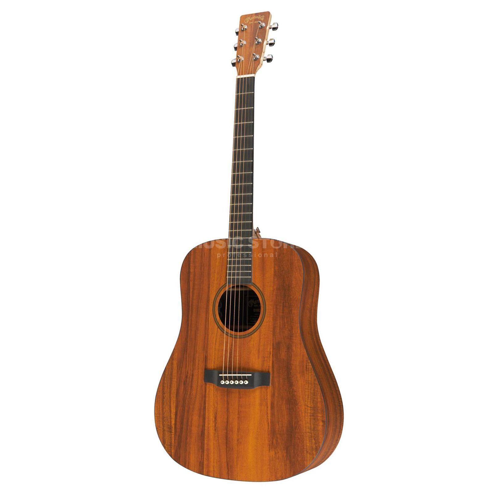 Martin Guitars DXK2AE Hawaiian Koa Natural Produktbild