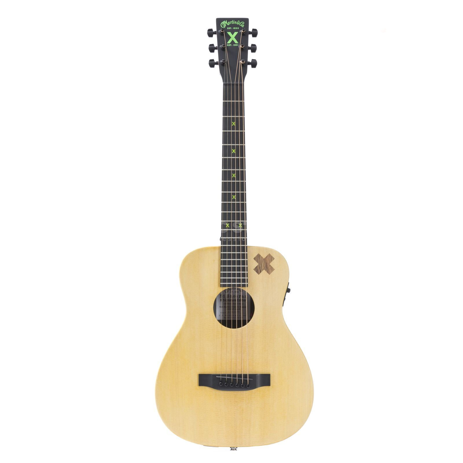 Martin Guitars LX Ed Sheeran 2 Lefthand Natural Produktbillede