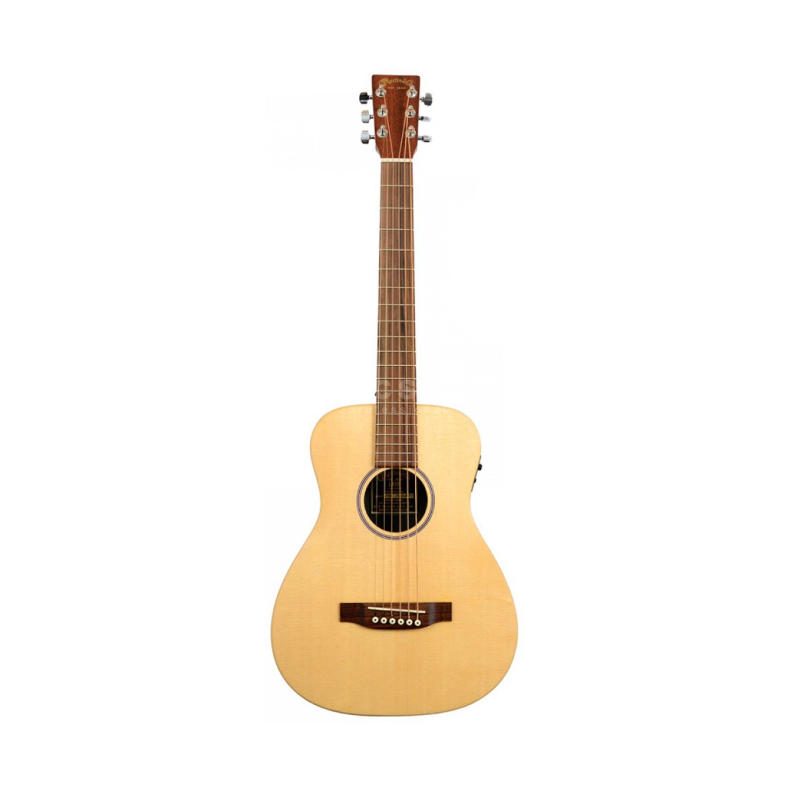Martin Guitars LX1E NT Lefthand Natural Produktbild