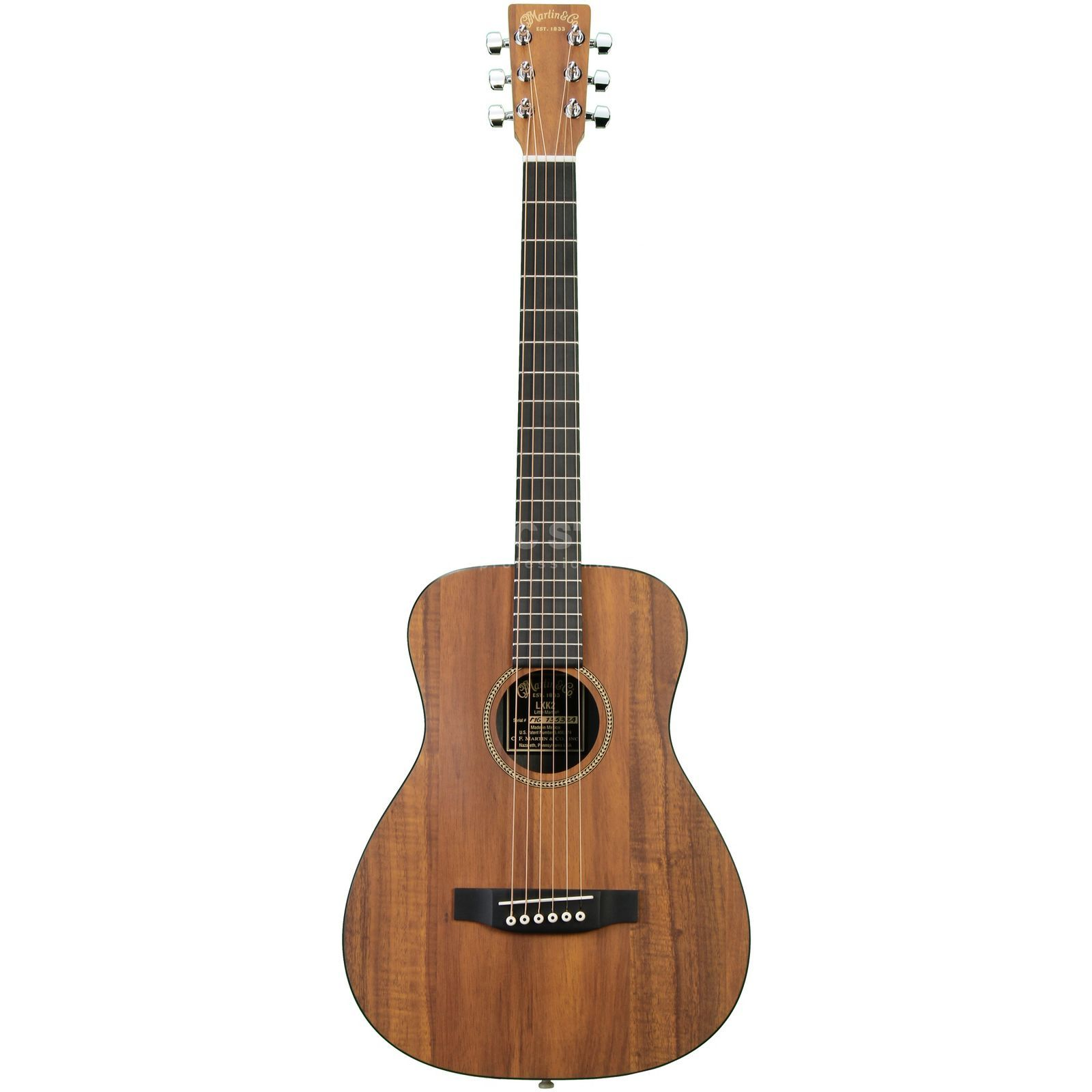 Martin Guitars LXK2, X Serie Top & Back+Sides Koafinishing Produktbillede