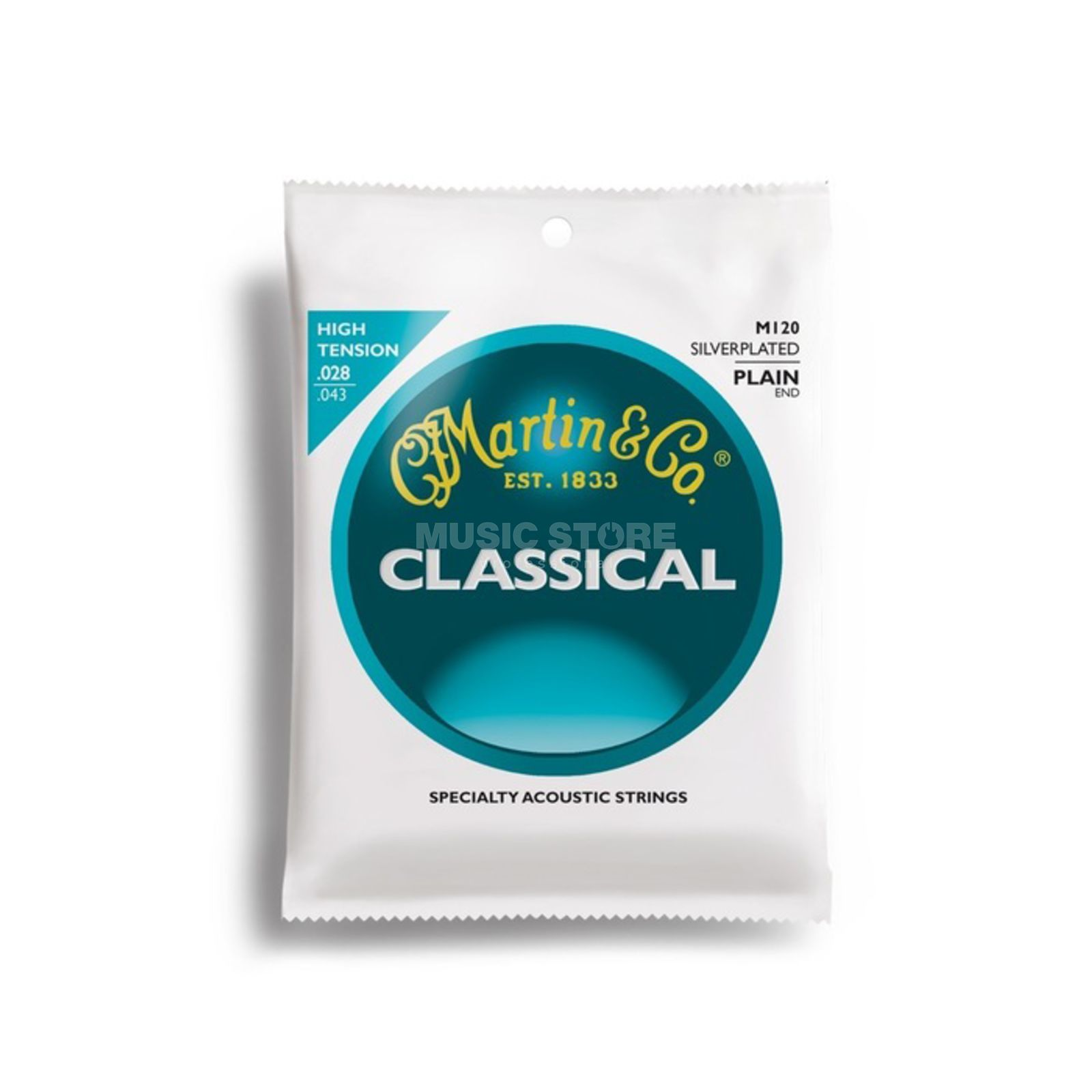 Martin Guitars M120 Classical Strings Produktbillede