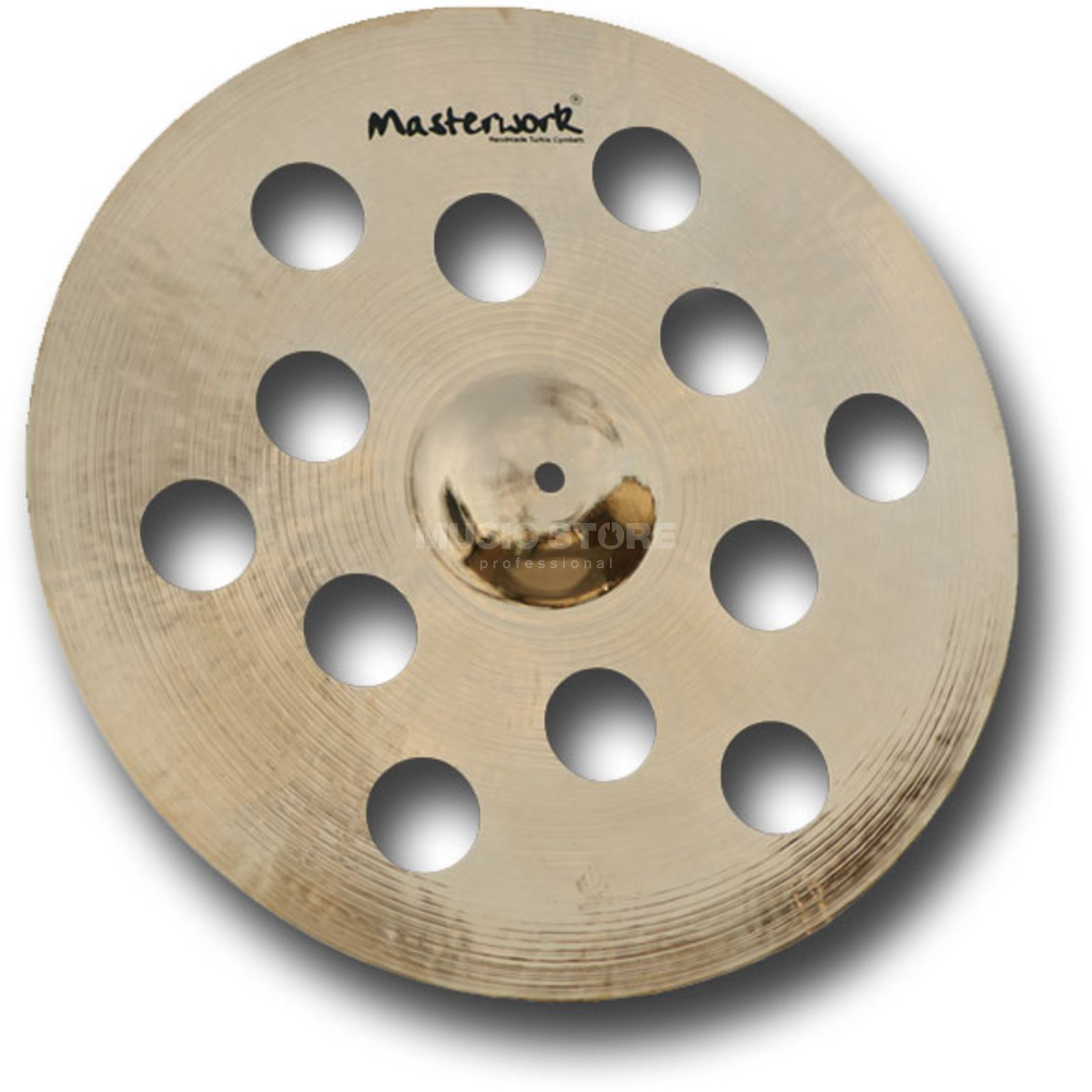 "Masterwork Resonant FX Crash 17"", Brilliant Finish Productafbeelding"