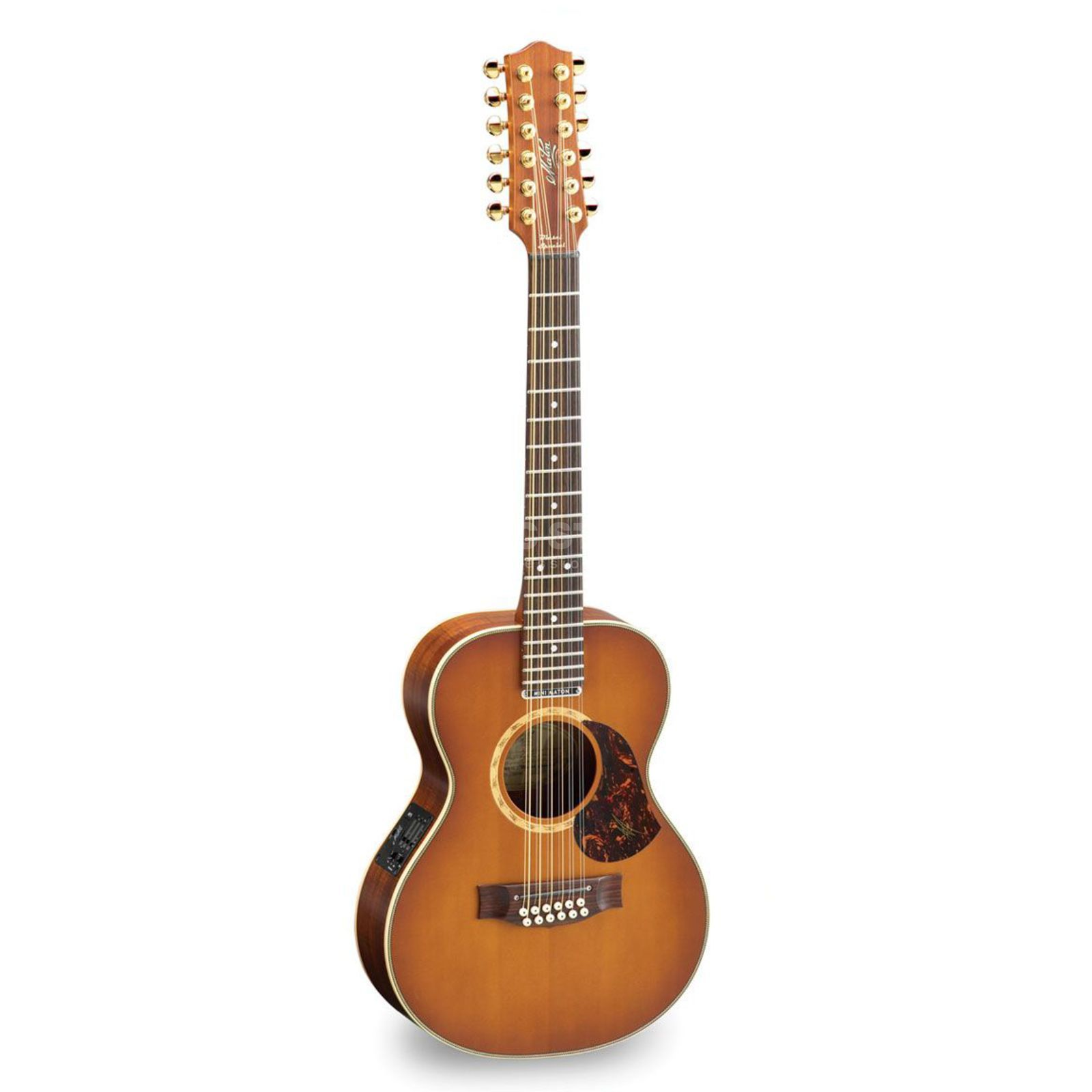 Maton EMD 12 String  Diesel Signature - Natural Satin incl. Case Produktbillede