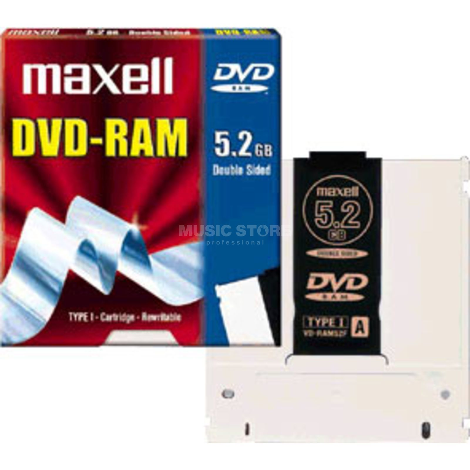 Maxell DVD-RAM 94F Typ I 9,4 GB Double Sided Produktbild