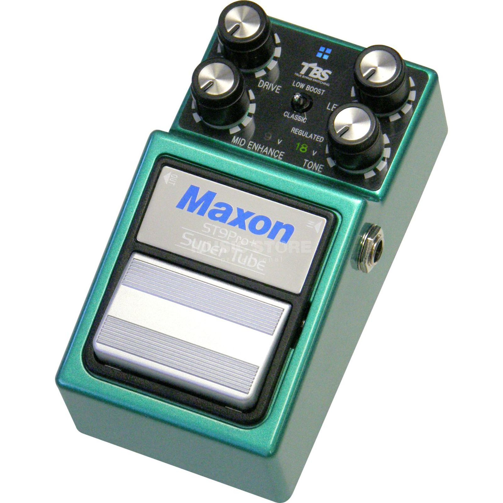 Maxon ST-9 Pro+ Super Tube Distortio n Guitar Effects Pedal   Produktbillede