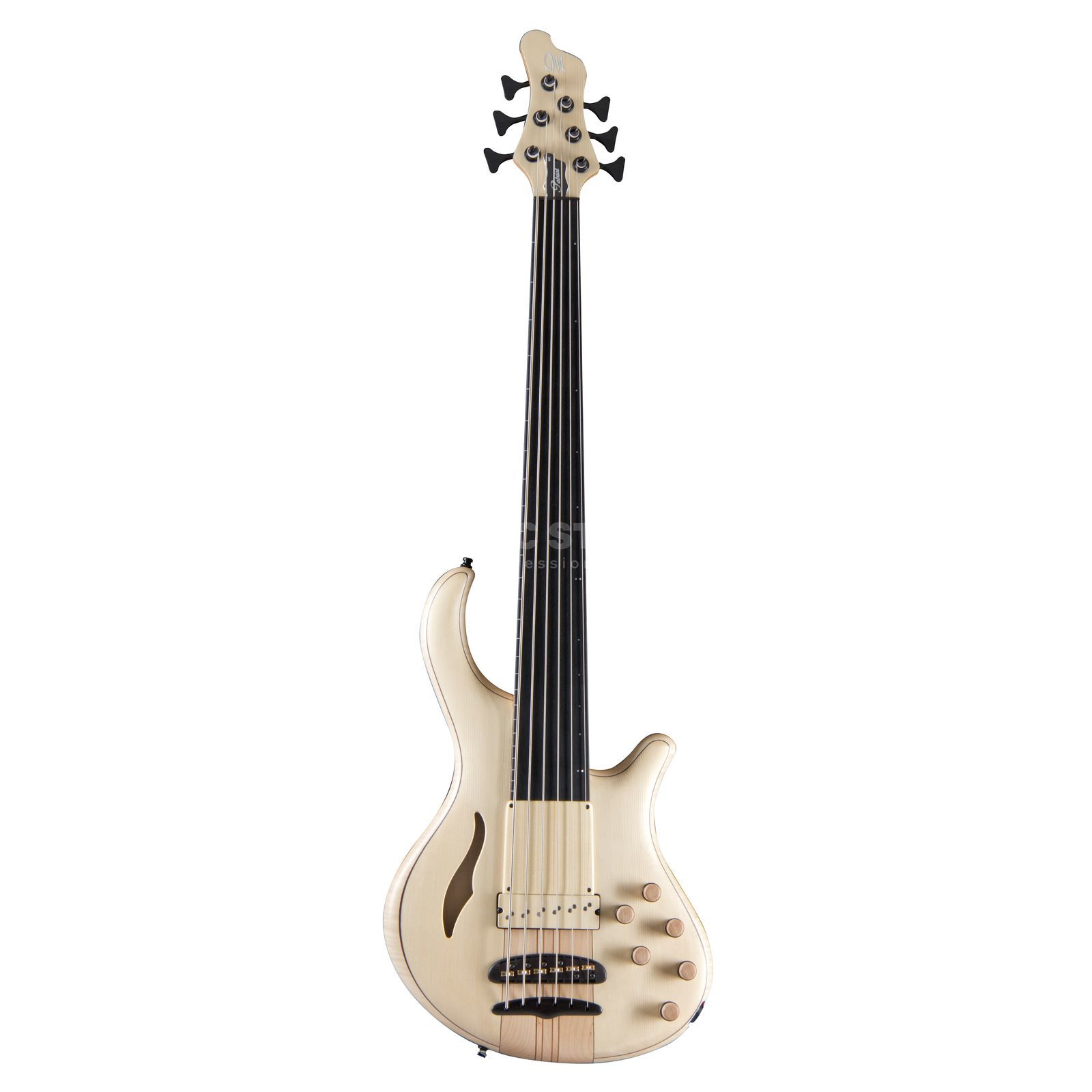 Mayones AS Patriot 6 MR Fretless NT CS Natural Productafbeelding