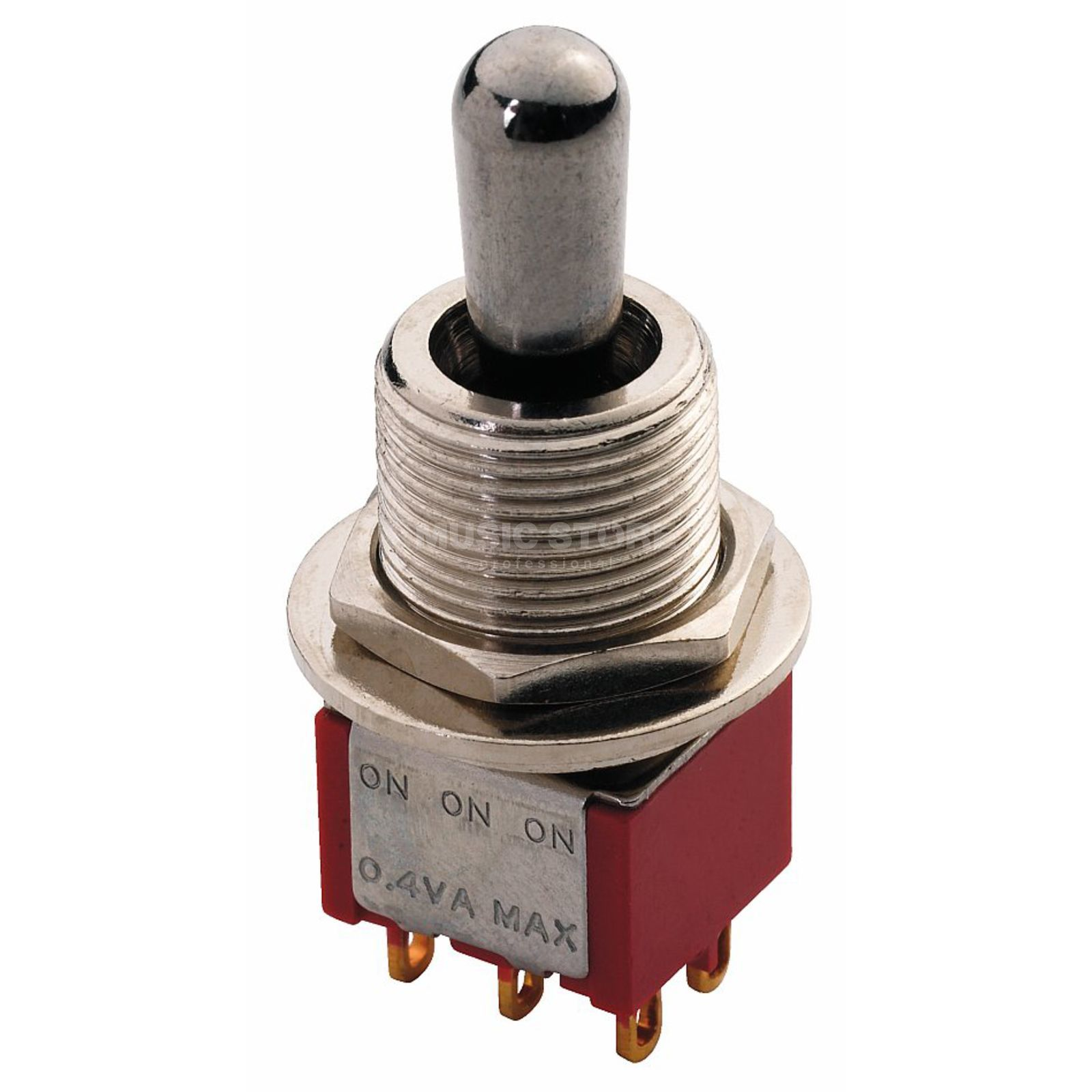 MEC Maxi Toggle Switch chrome on-on-on 6 Pol Produktbild