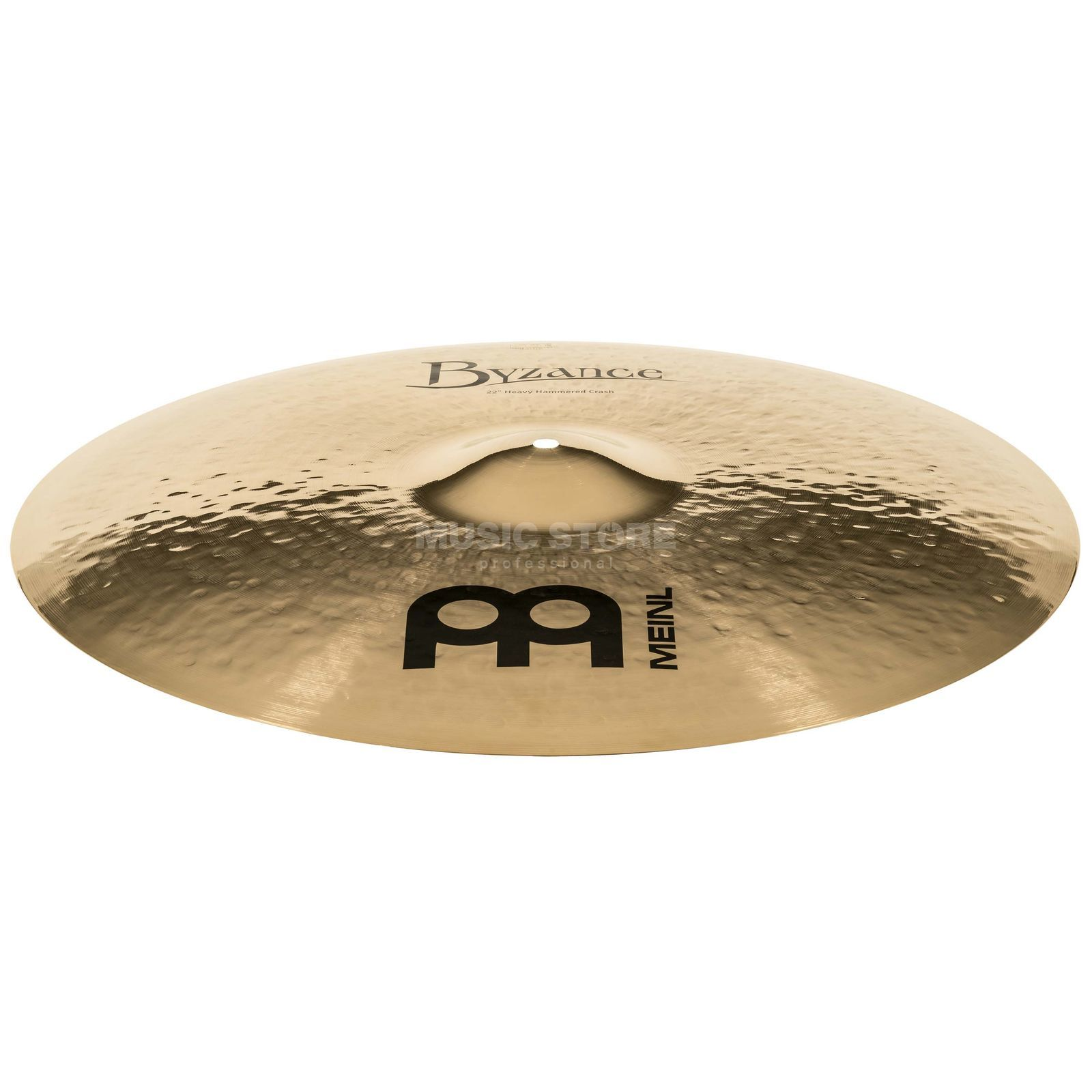"Meinl B22HHC-B Byzance Heavy Hammered Brilliant Crash 22"" Product Image"