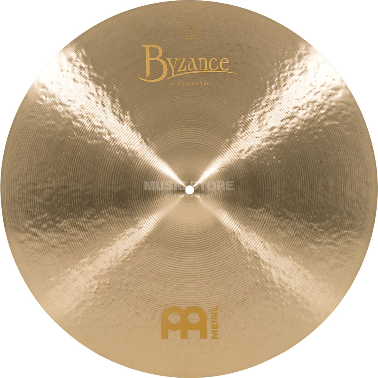 "Meinl Byzance Big Apple Ride 22"", B22JBAR, Jazz Finish Produktbillede"
