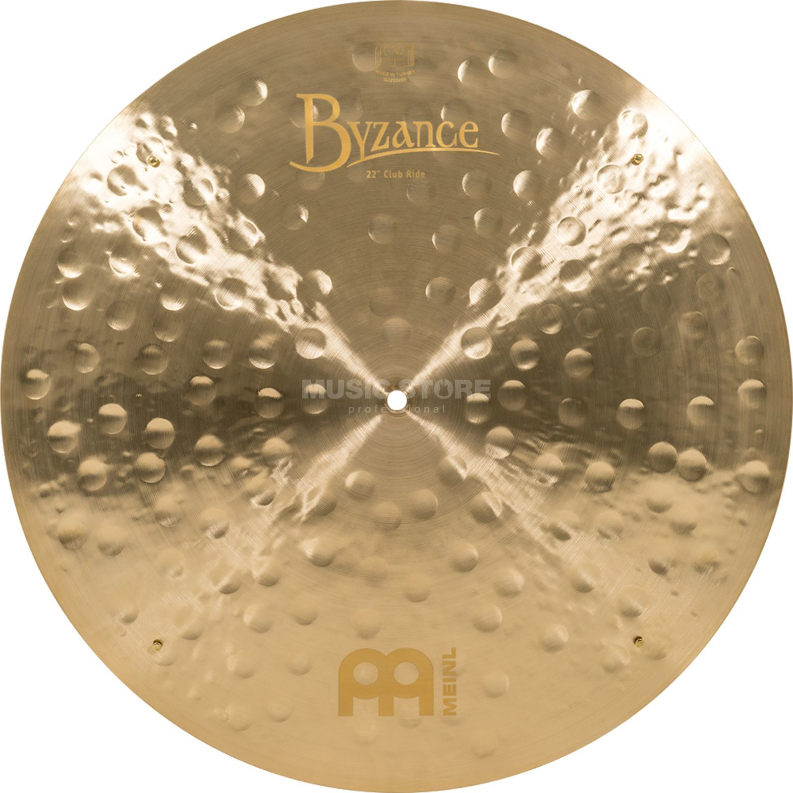 "Meinl Byzance Club Ride 22"", B22JCR, finition Jazz, Sizzles Image du produit"