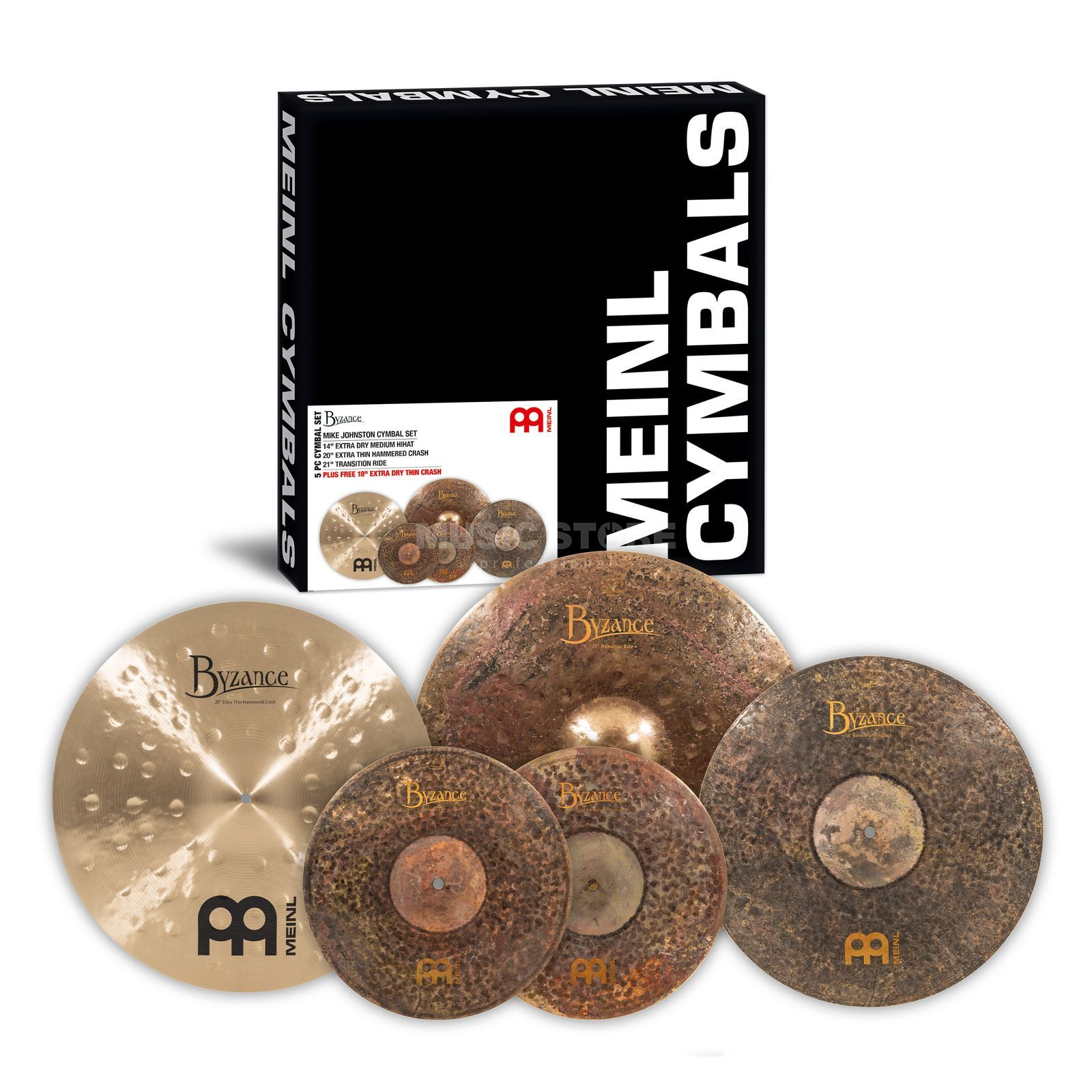 Meinl Byzance Cymbal Set MJ401+18, Mike Johnston Produktbillede