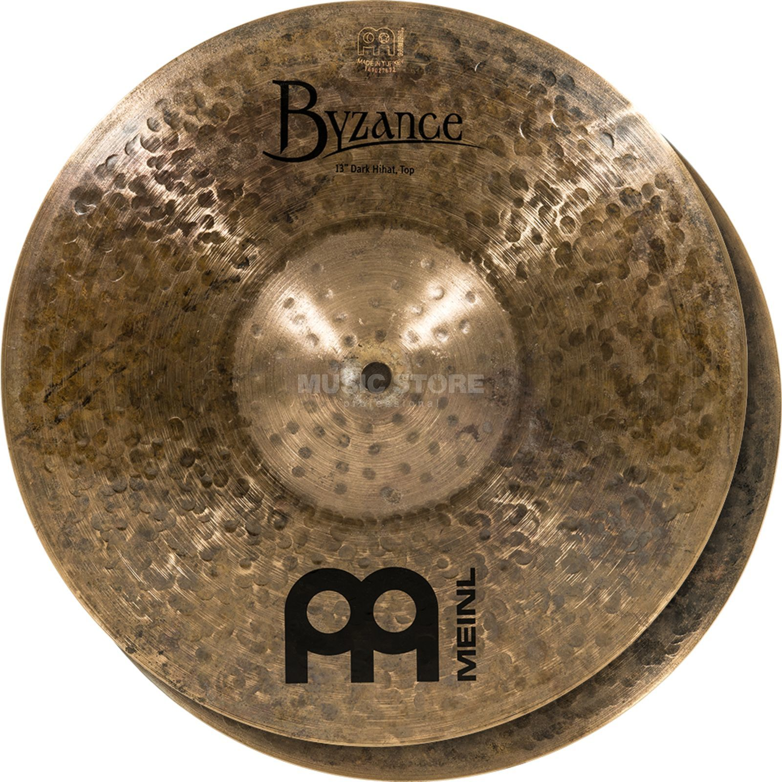 "Meinl Byzance Dark HiHat 13"", B13DAH, Dark Finish Product Image"