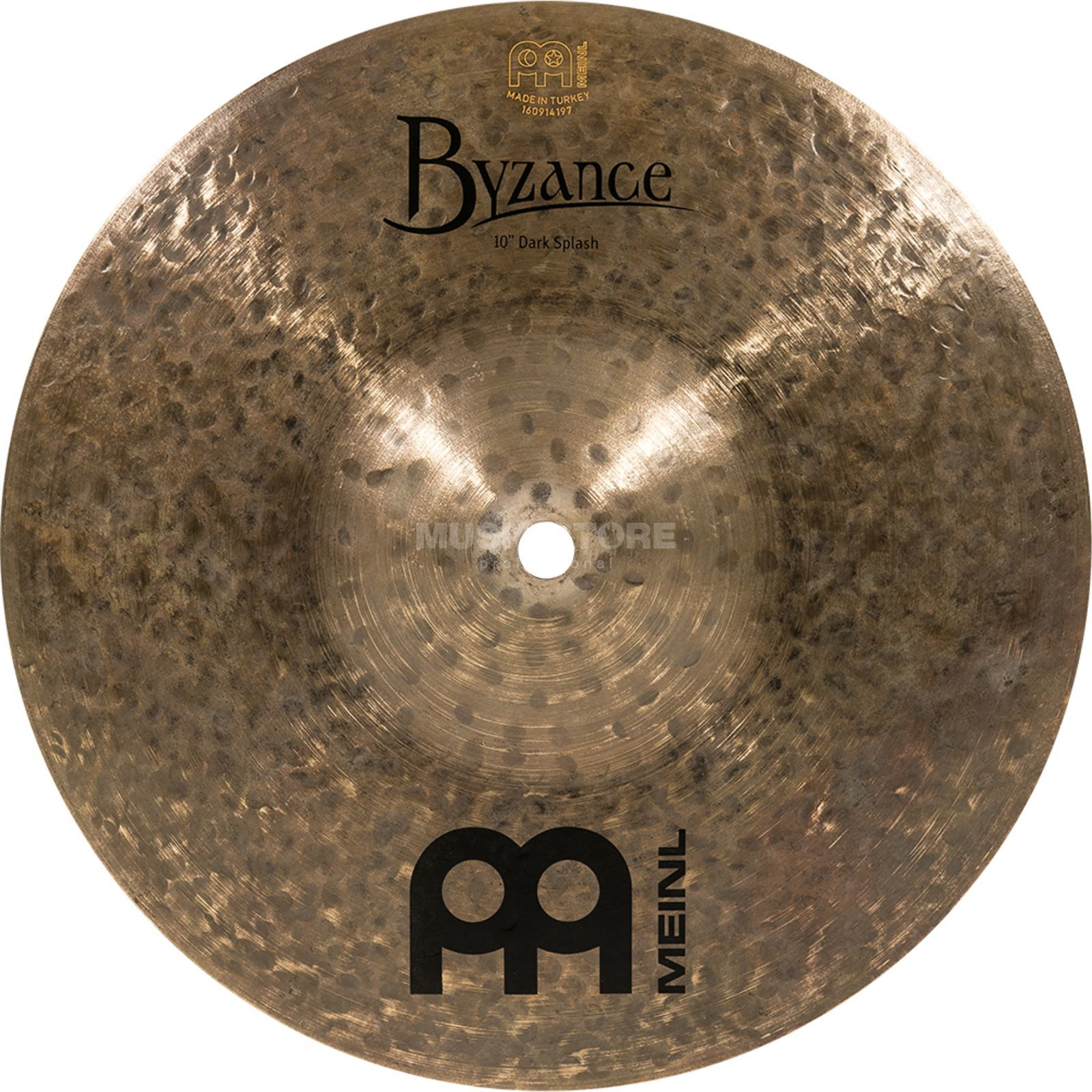 "Meinl Byzance Dark Splash 10"" B10DAS, Dark Finish Product Image"