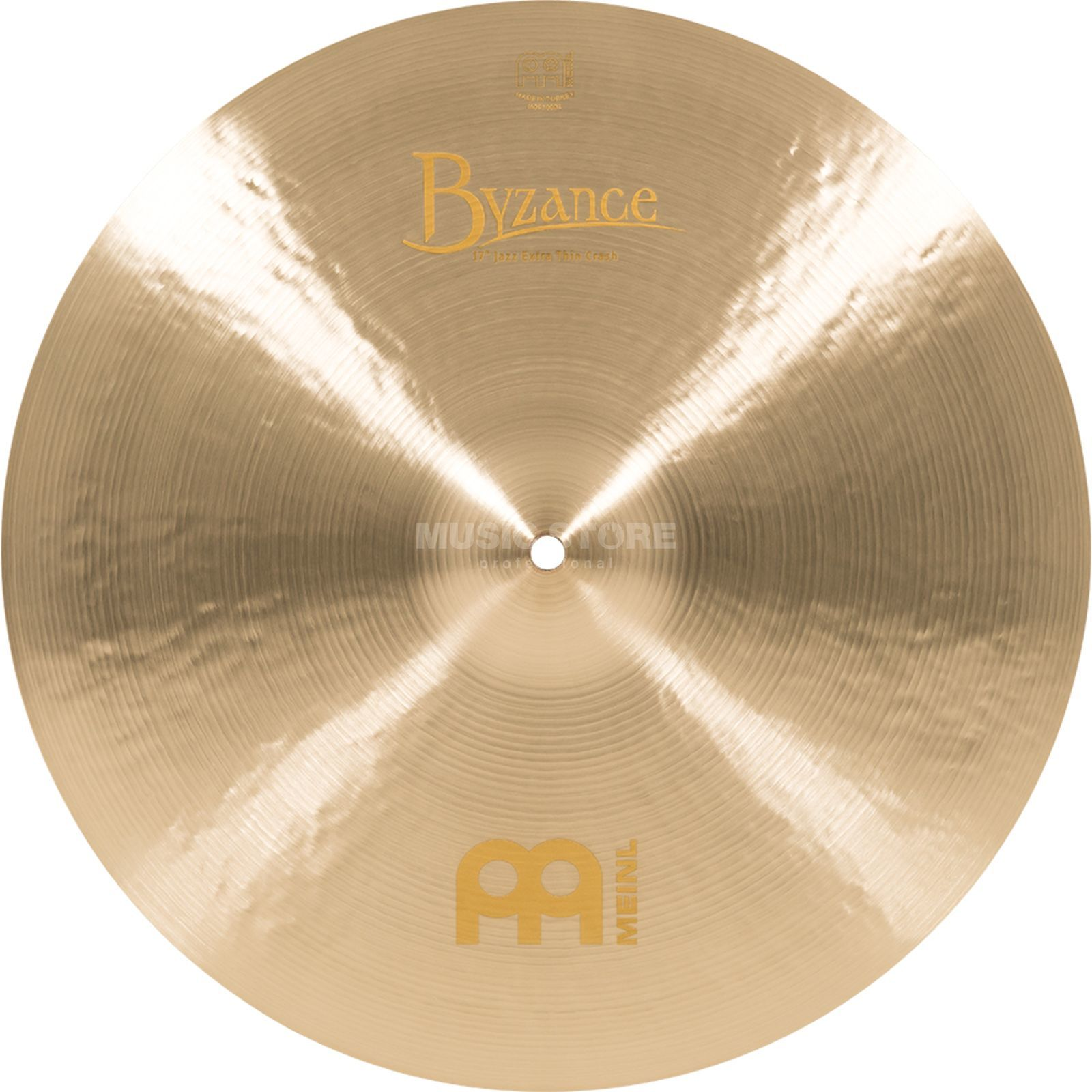 "Meinl Byzance Extra Thin Crash 17"", B17JETC, Jazz Finish Produktbild"