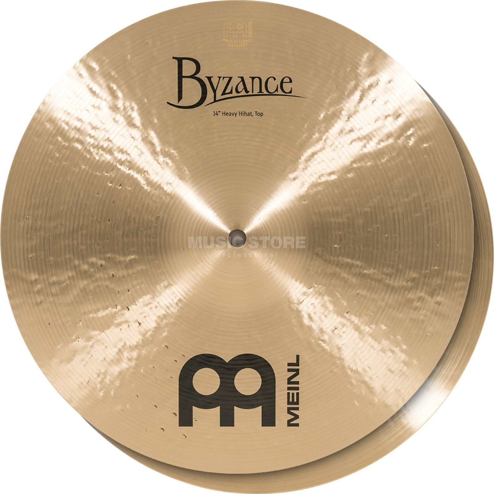 "Meinl Byzance Heavy HiHat 14"", B14HH, Traditional Finish Produktbillede"