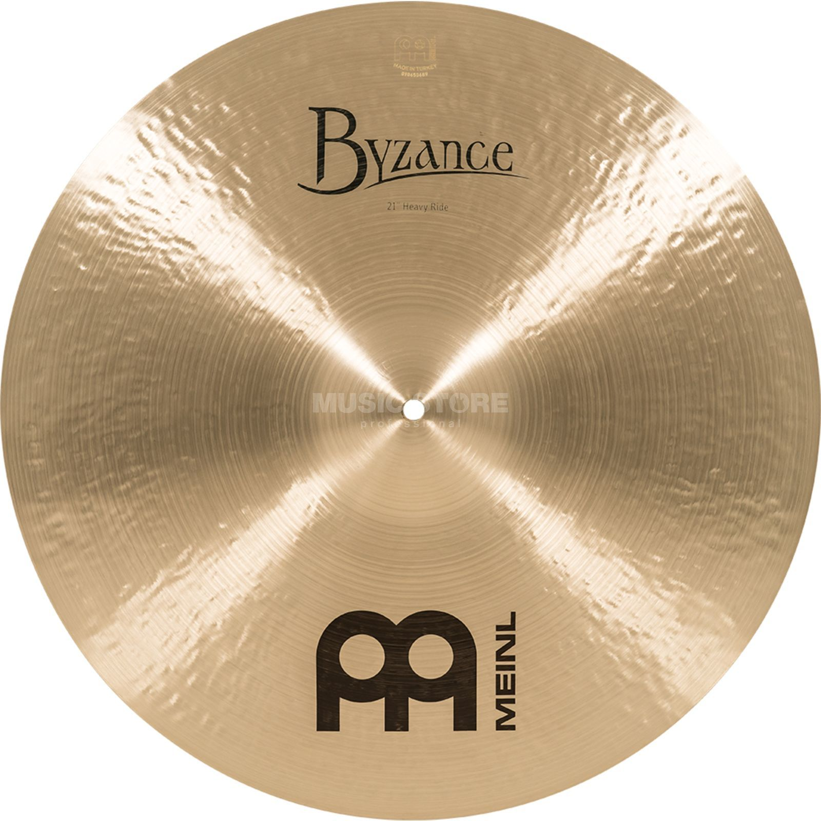 "Meinl Byzance Heavy Ride 21"", B21HR, Traditional Finish Produktbillede"